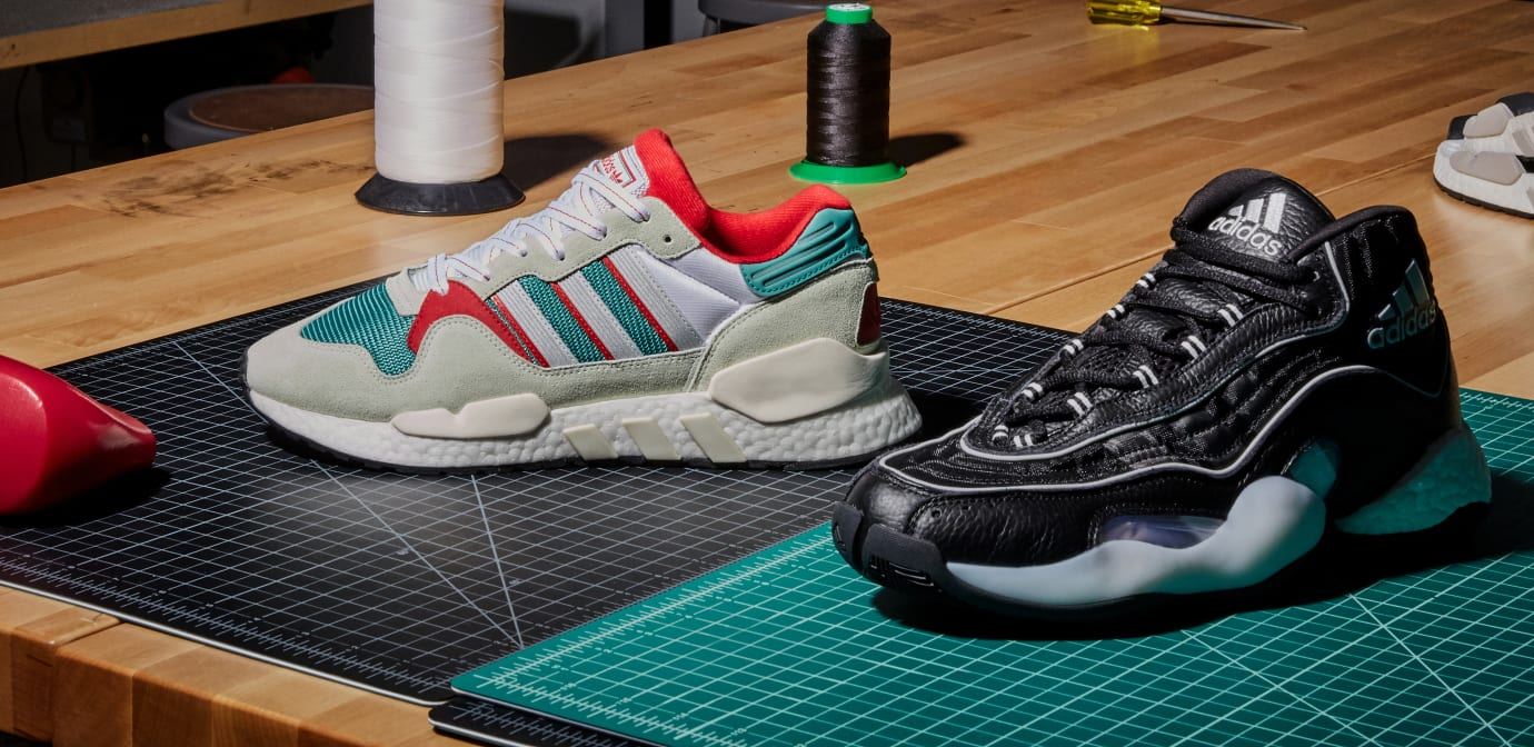 Adidas 'Never Made/Genetically Modified '90s Tech'