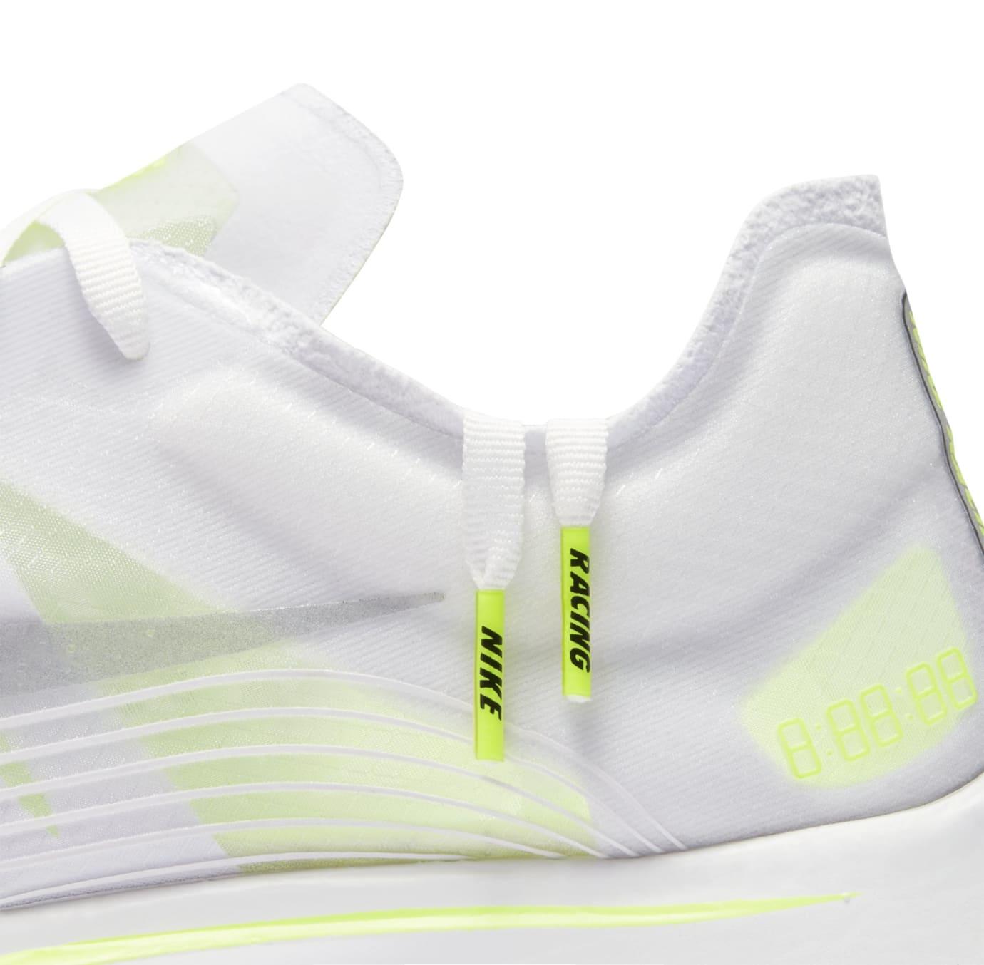 Nike Zoom Fly SP 'White/Volt/Glow' AJ9282-107 (Detail)