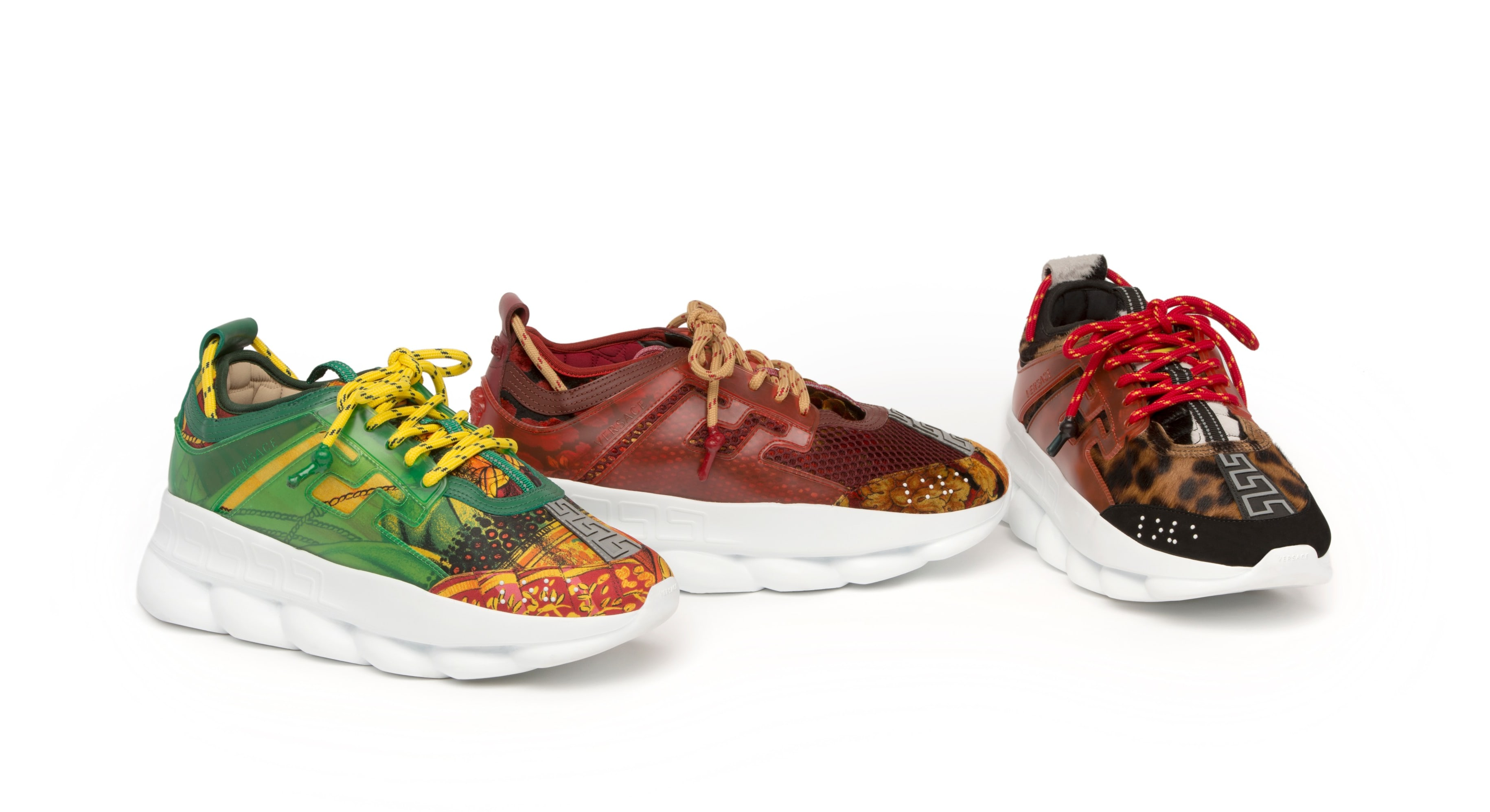 Versace Chain Reaction (Green, Maroon, Leopard)