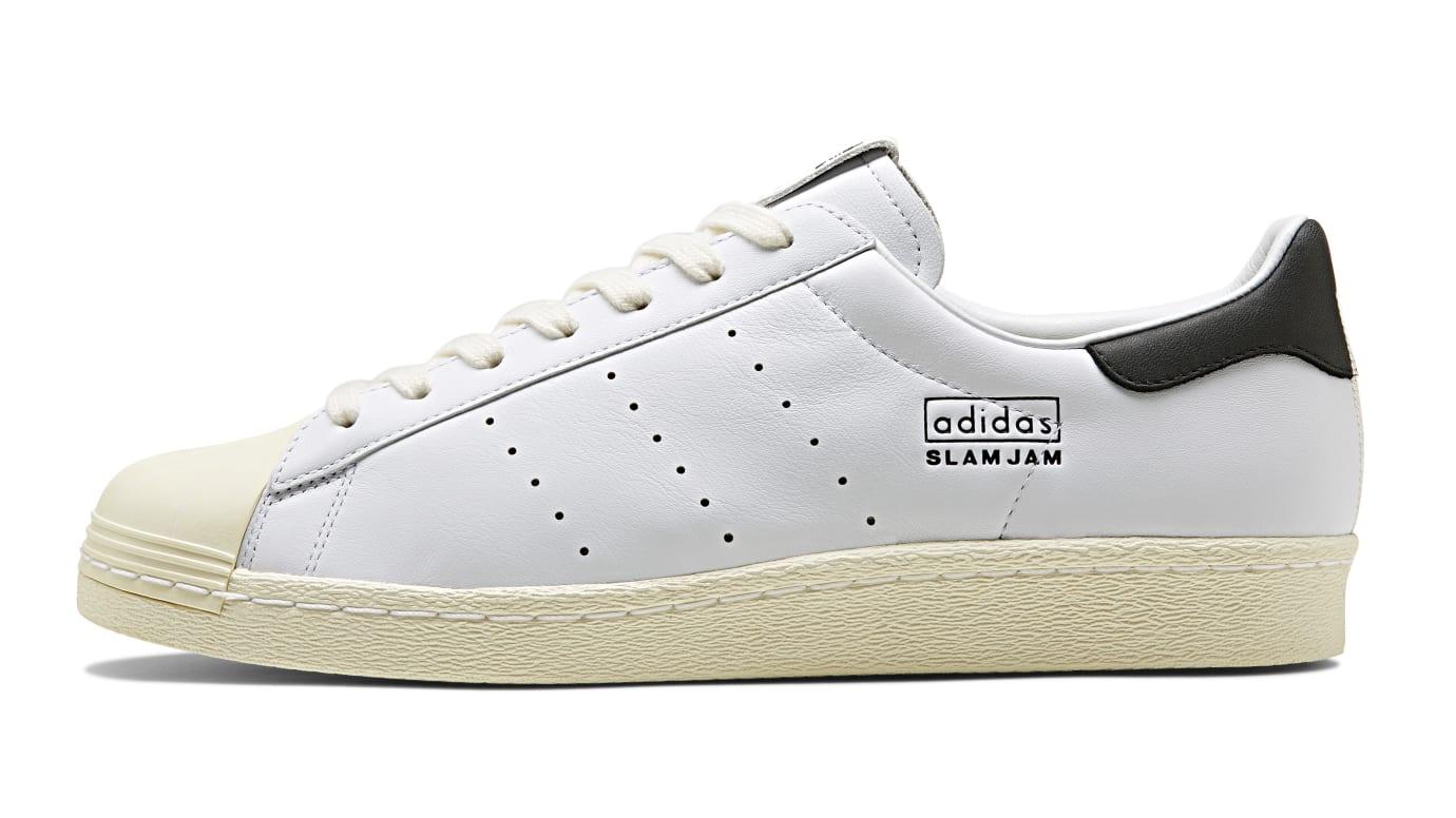 Slam Jam x Adidas 80s Superstar (Lateral)