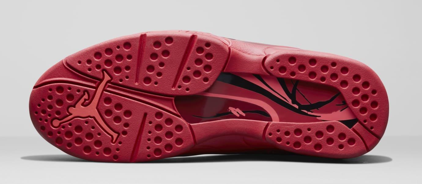Wmns Air Jordan 8 Valentine S Day Gym Red Ember Glow Team Red