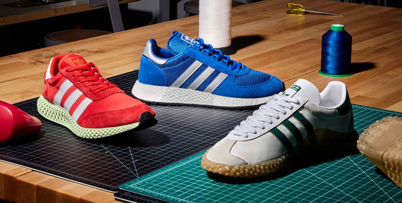 Adidas 'Never Made/Line of Descent'