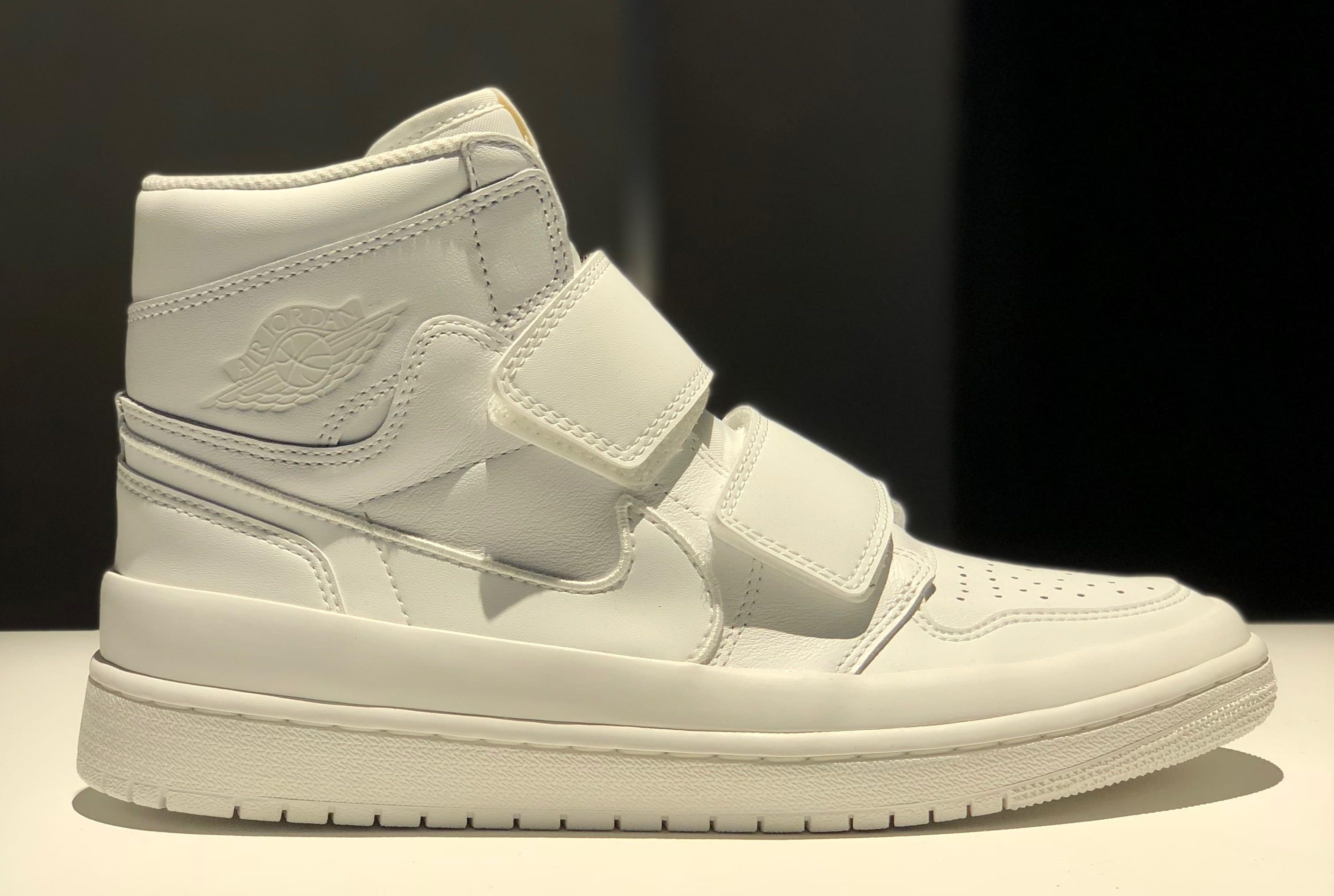 Air Jordan 1 High Velcro Men's White