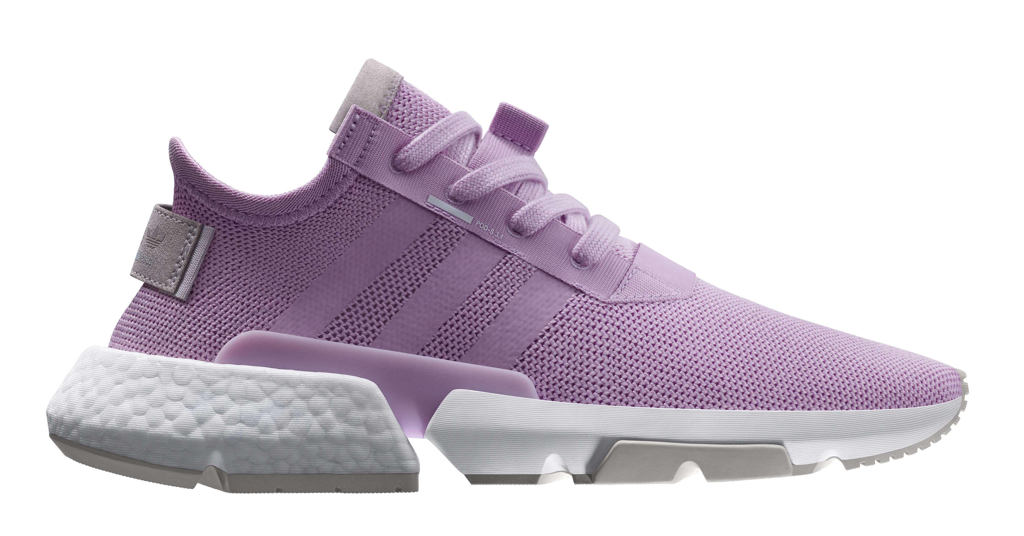Adidas POD System W 'Lavender' B37469 (Lateral)