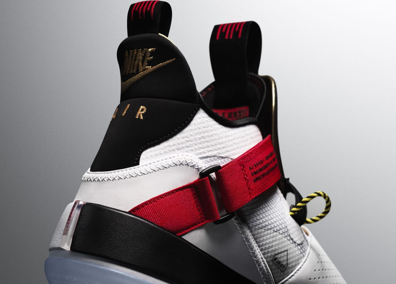 Air Jordan 33 (Heel)