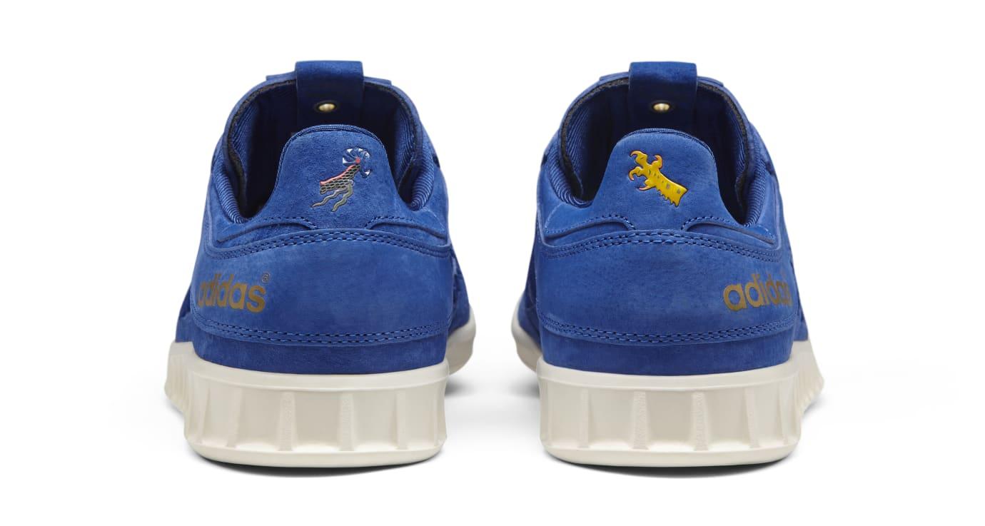 size 40 79fed ce6be Image via Adidas Adidas Consortium Exchange Juice x Foot Patrol Handball Top  CM7876 (Heel)