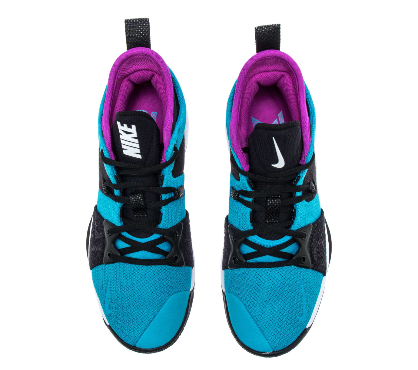 Nike PG2 'Blue Lagoon/Hyper Violet/White' AJ2039-402 (Top)