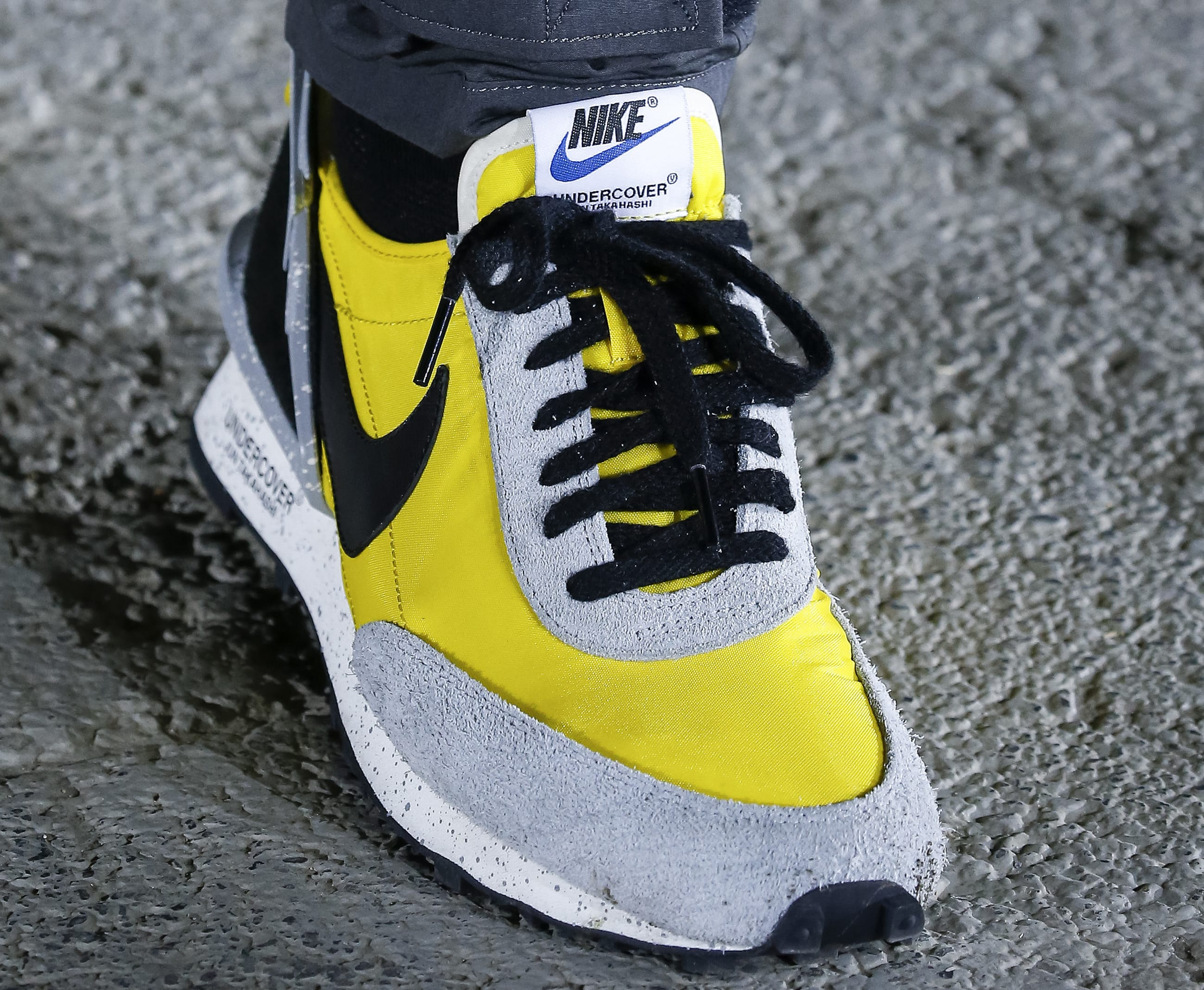Undercover x Nike Paris Fashion Week Yellow Low-Top