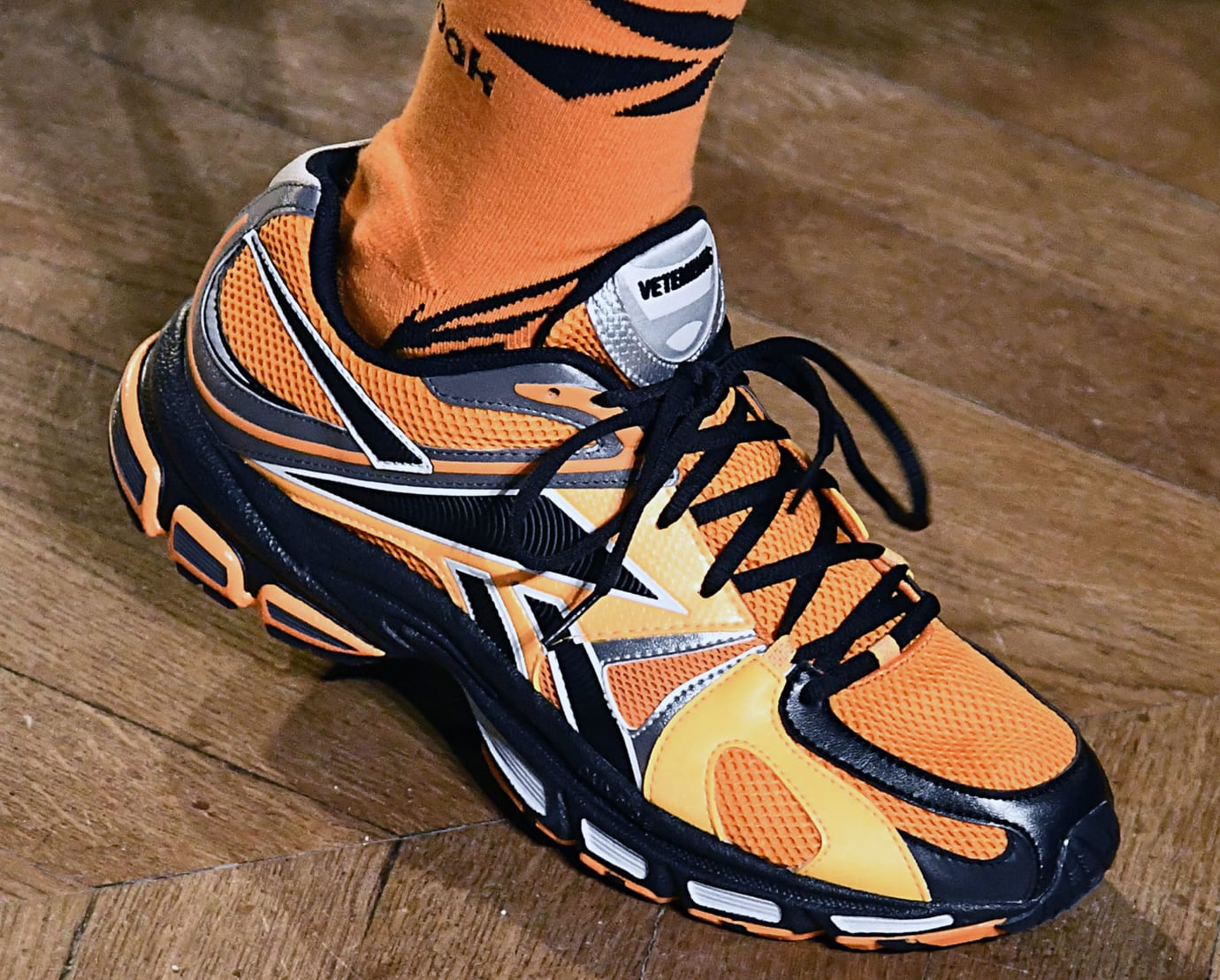 Vetements x Reebok FW 19 Runner (Orange)