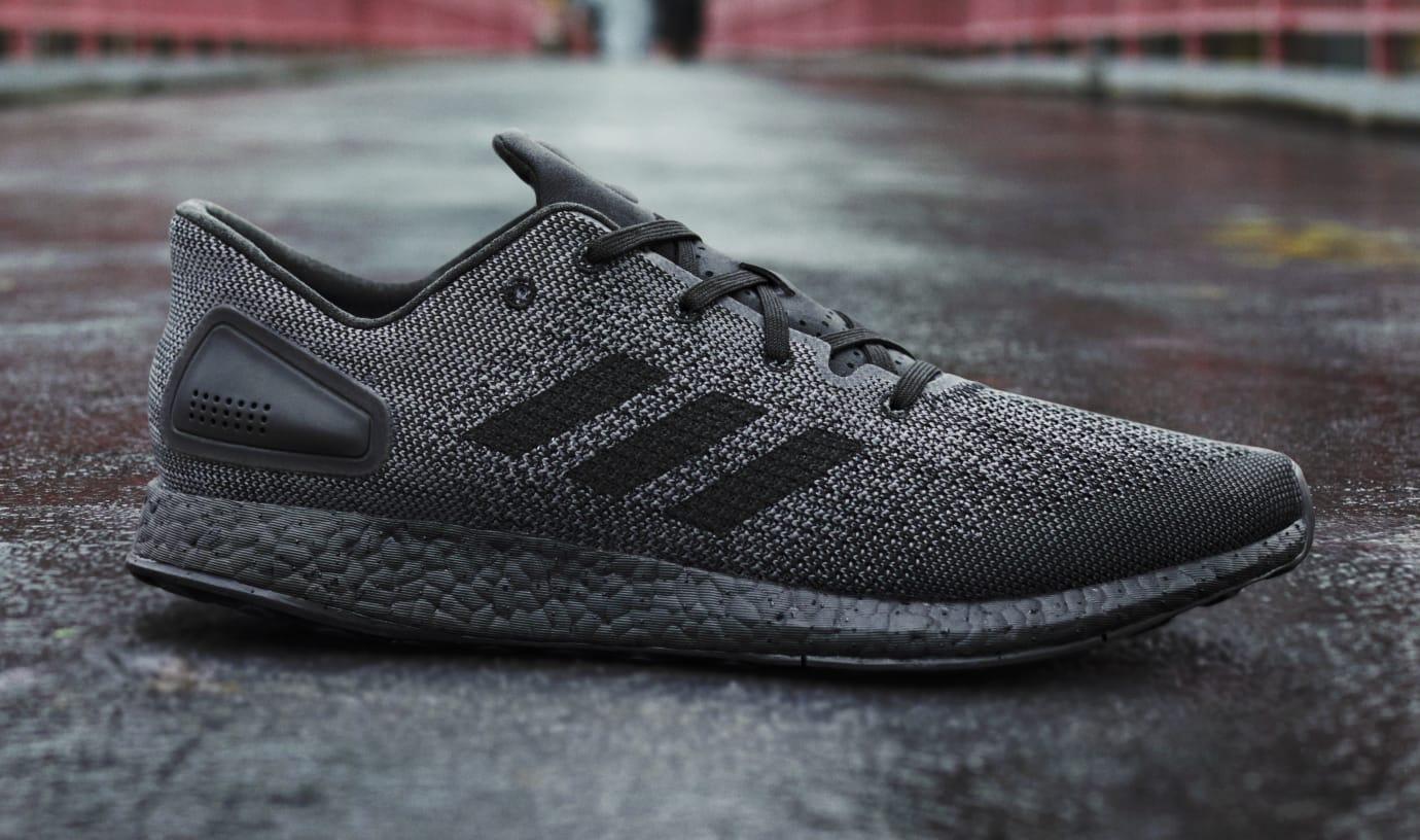 Adidas PureBOOST DPR 'Triple Black' (Lateral)