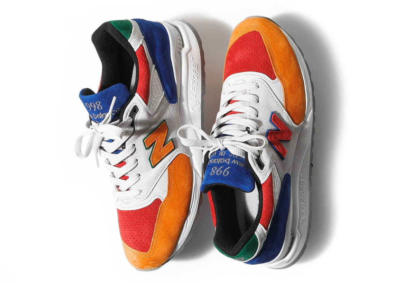 Bodega x New Balance 998 'Mass Transit' (Pair)