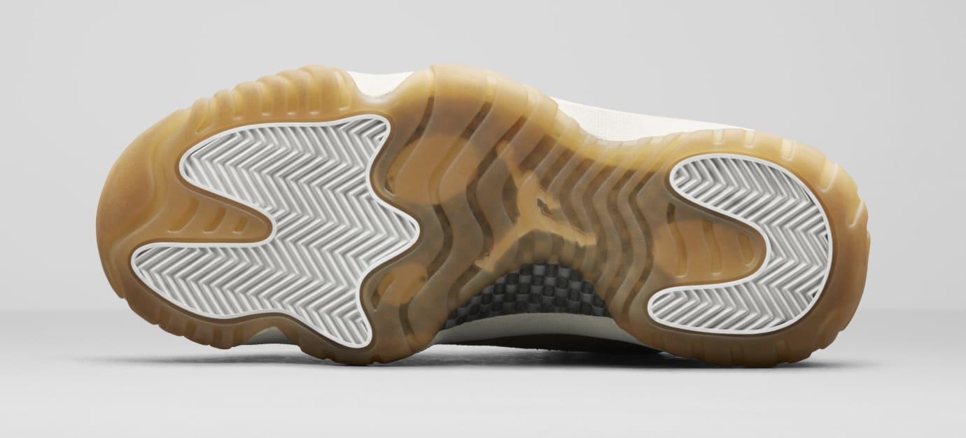 78f4d4869174b0 Image via Nike Air Jordan 11  Olive Lux  AR0715-200 (Bottom)