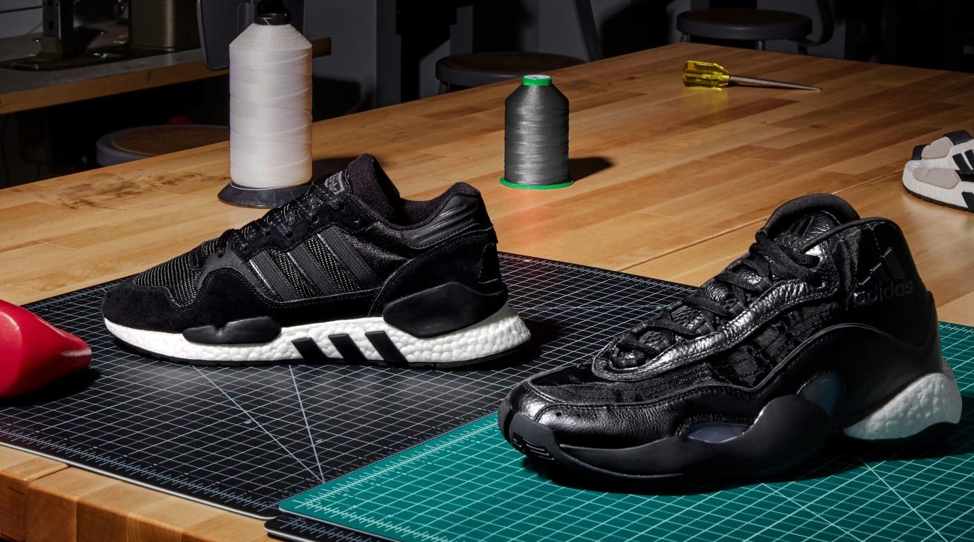 separation shoes 2153a 05ba6 Image via Adidas Adidas Originals Never Made Triple Black Collection 3