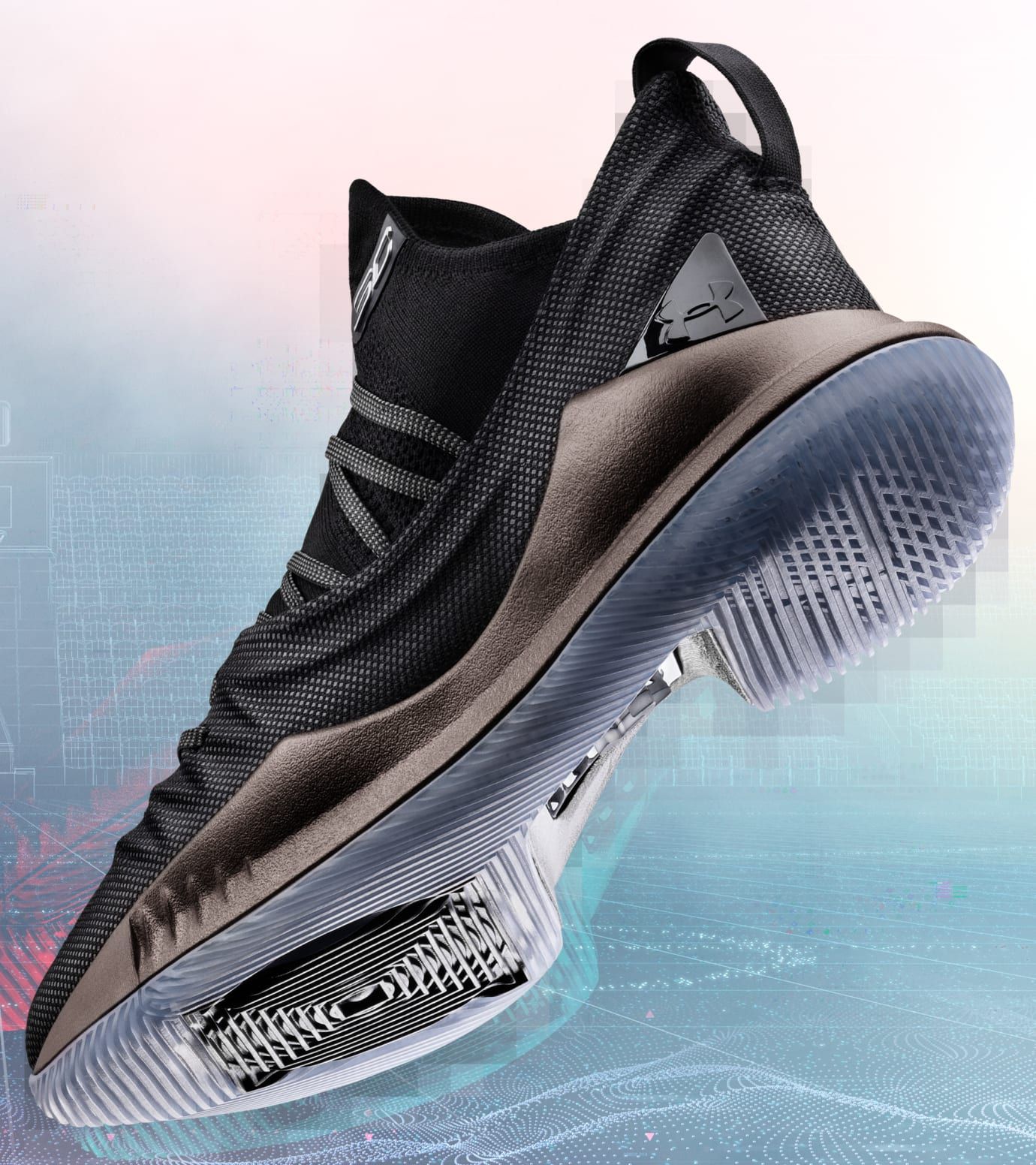4e58f4f2d01 Image via Under Armour Under Armour Curry 5  Pi Day  (Outsole)
