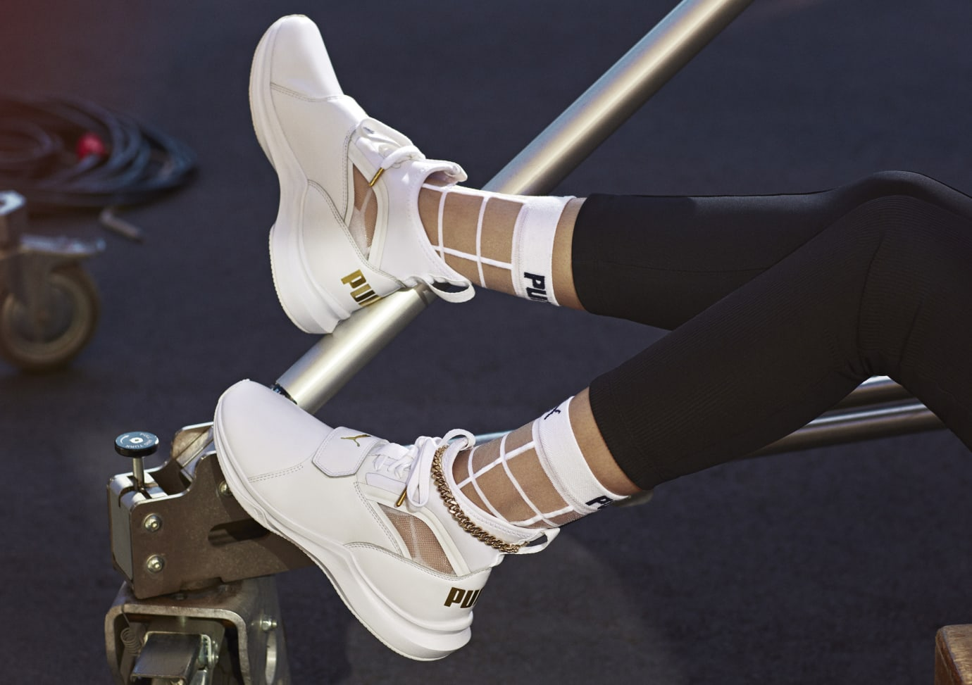Selena Gomez x Puma Phenom Lux (On-Foot)