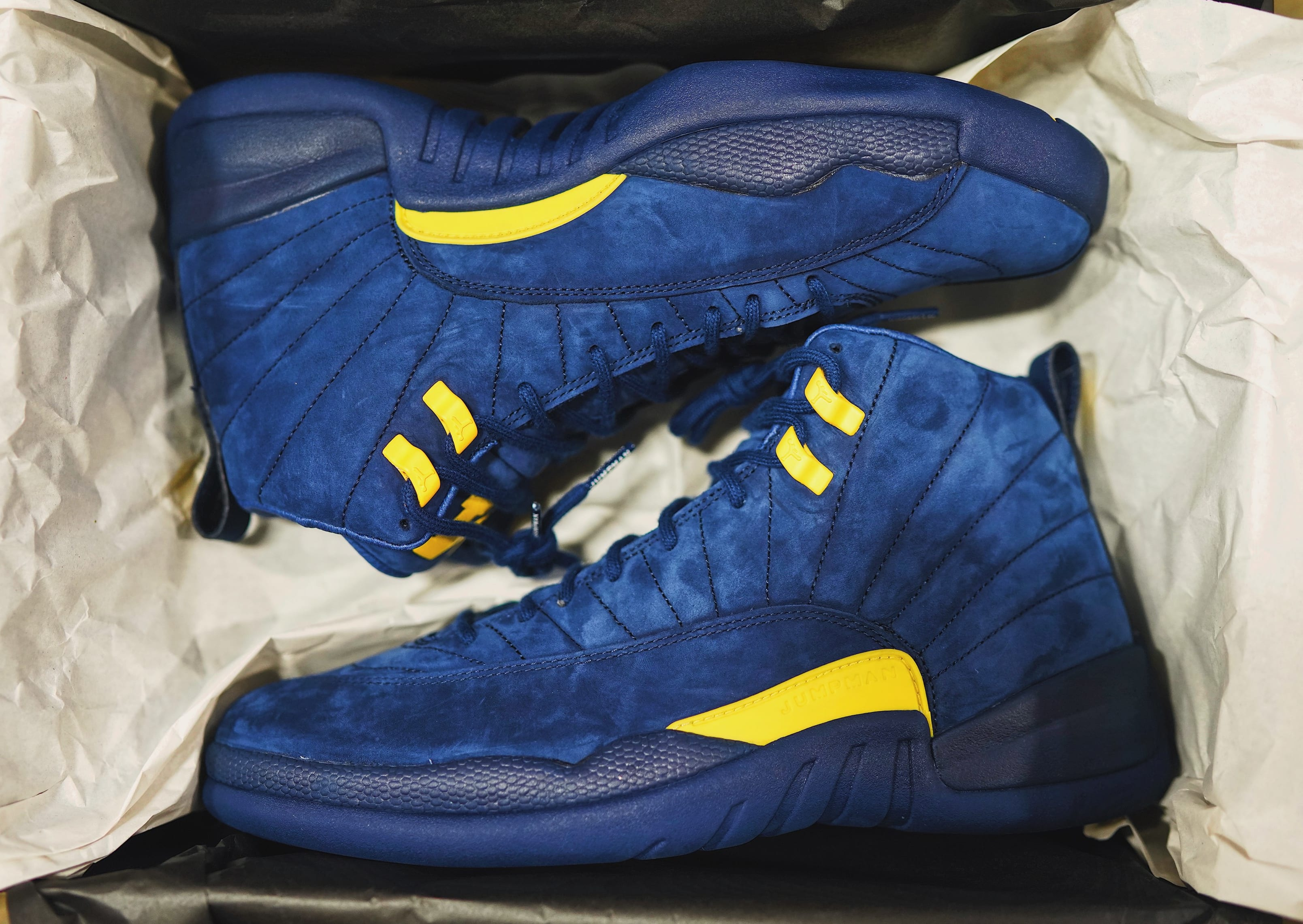 Air Jordan 12 'Michigan' BQ3180-407 (Pair)