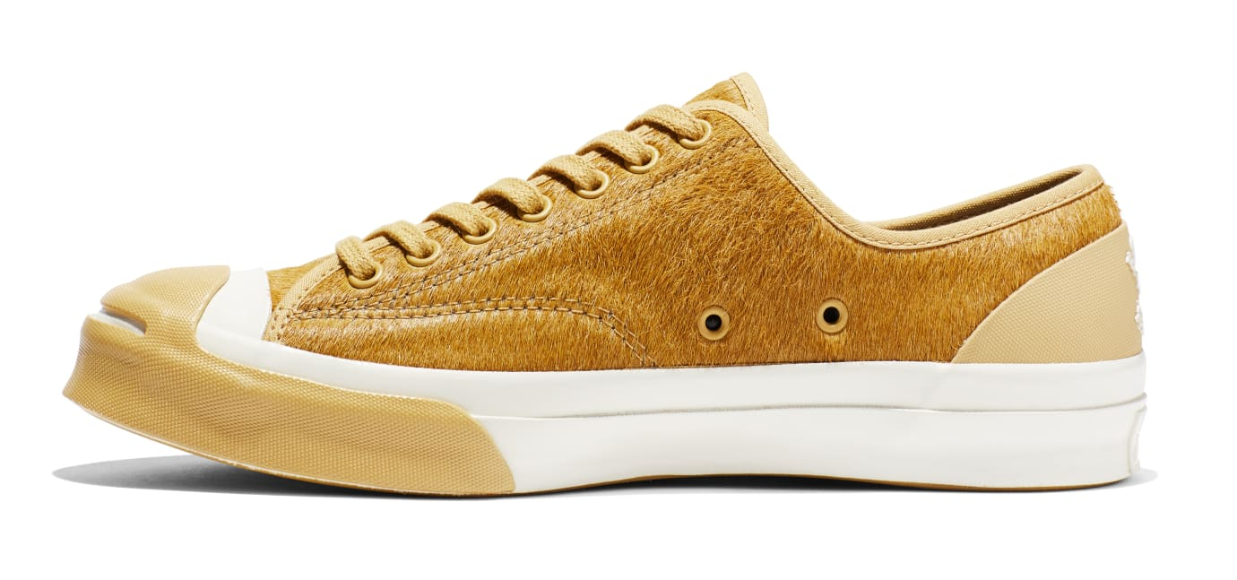 BornxRaised x Converse Jack Purcell 'Camel' (Medial)