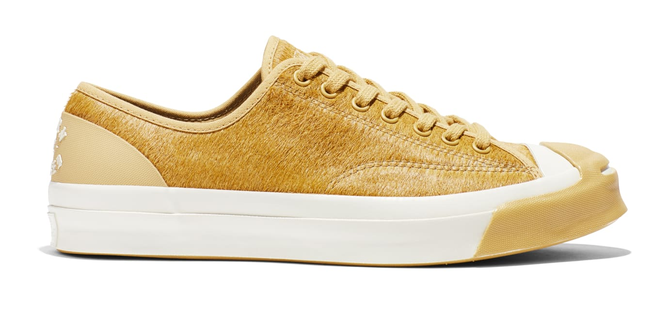 BornxRaised x Converse Jack Purcell 'Camel' (Lateral)
