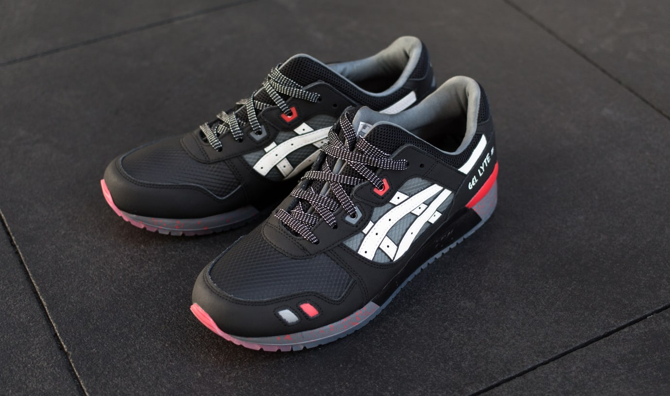 G.I. Joe x Asics Gel-Lyte III 'Snake Eyes' 1