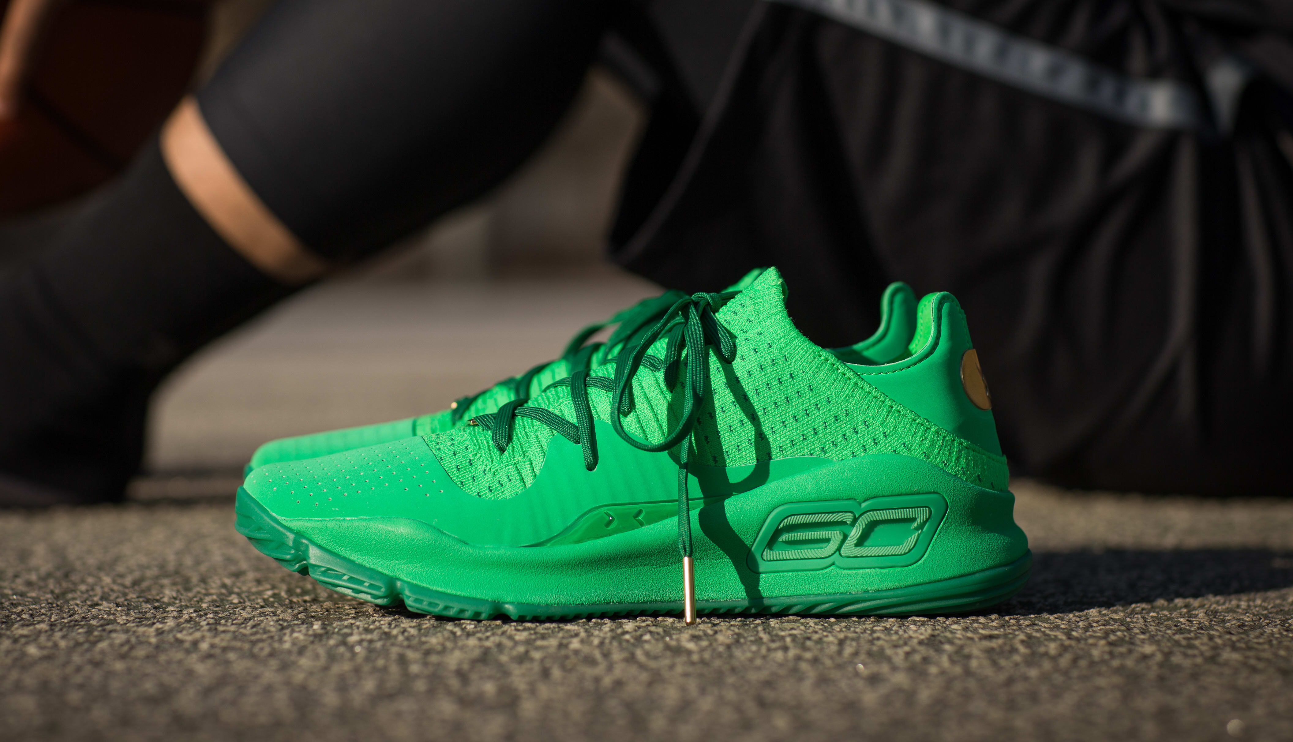 Under Armour Curry 4 Low 'Green'