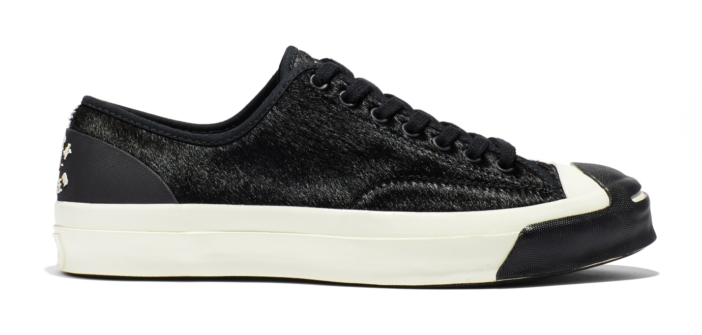 BornxRaised x Converse Jack Purcell 'Black' (Lateral)