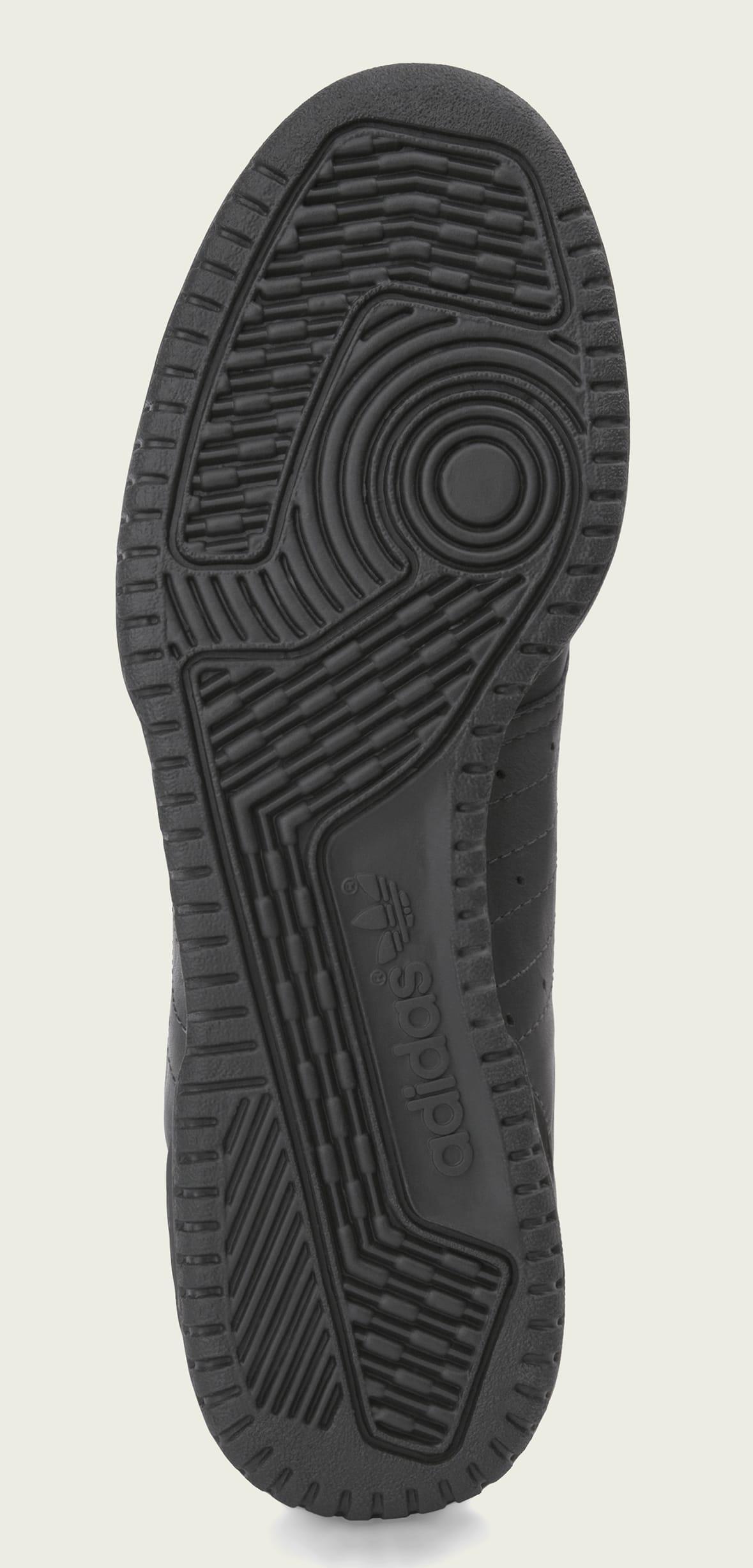 Adidas Yeezy Powerphase 'Core Black' CG6420 (Sole)