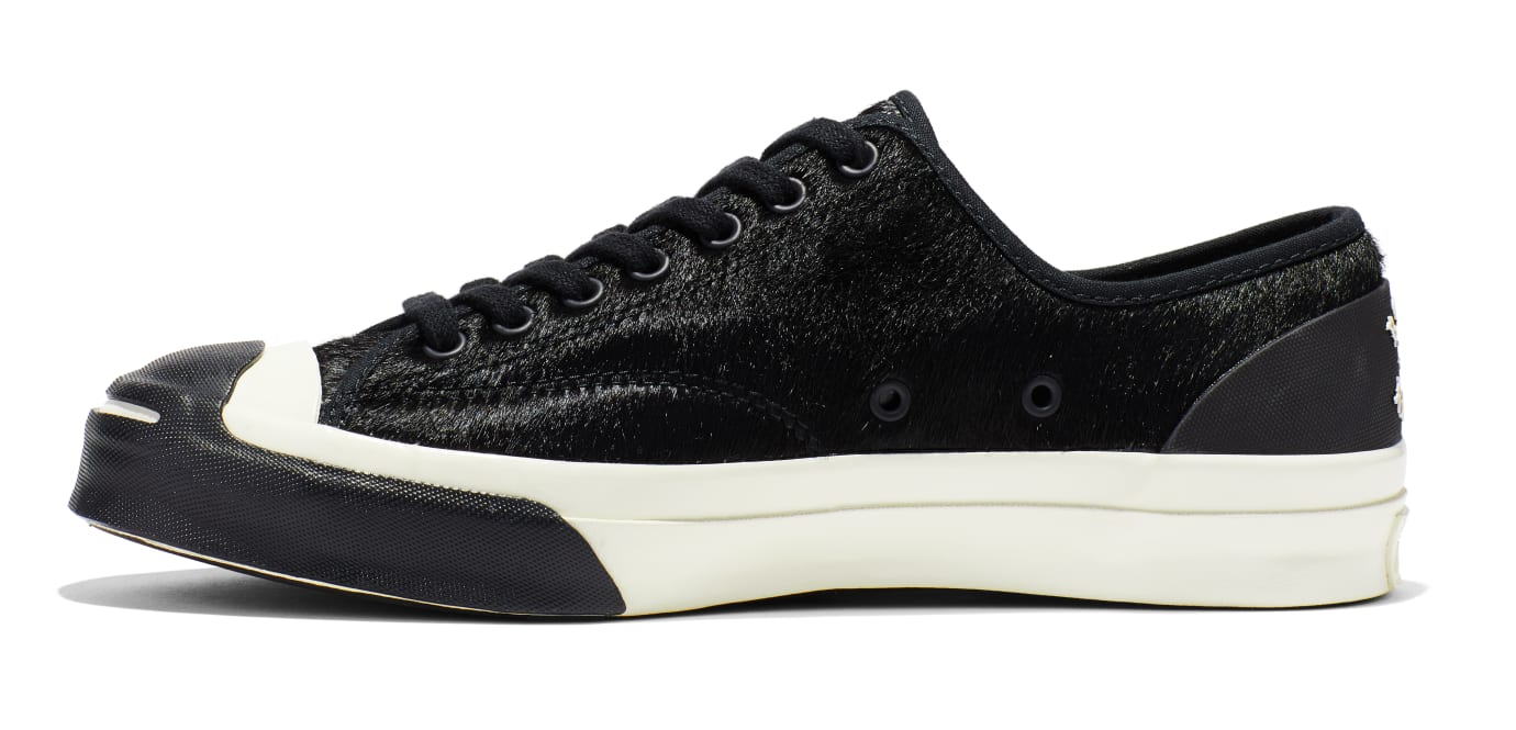 BornxRaised x Converse Jack Purcell 'Black' (Medial)