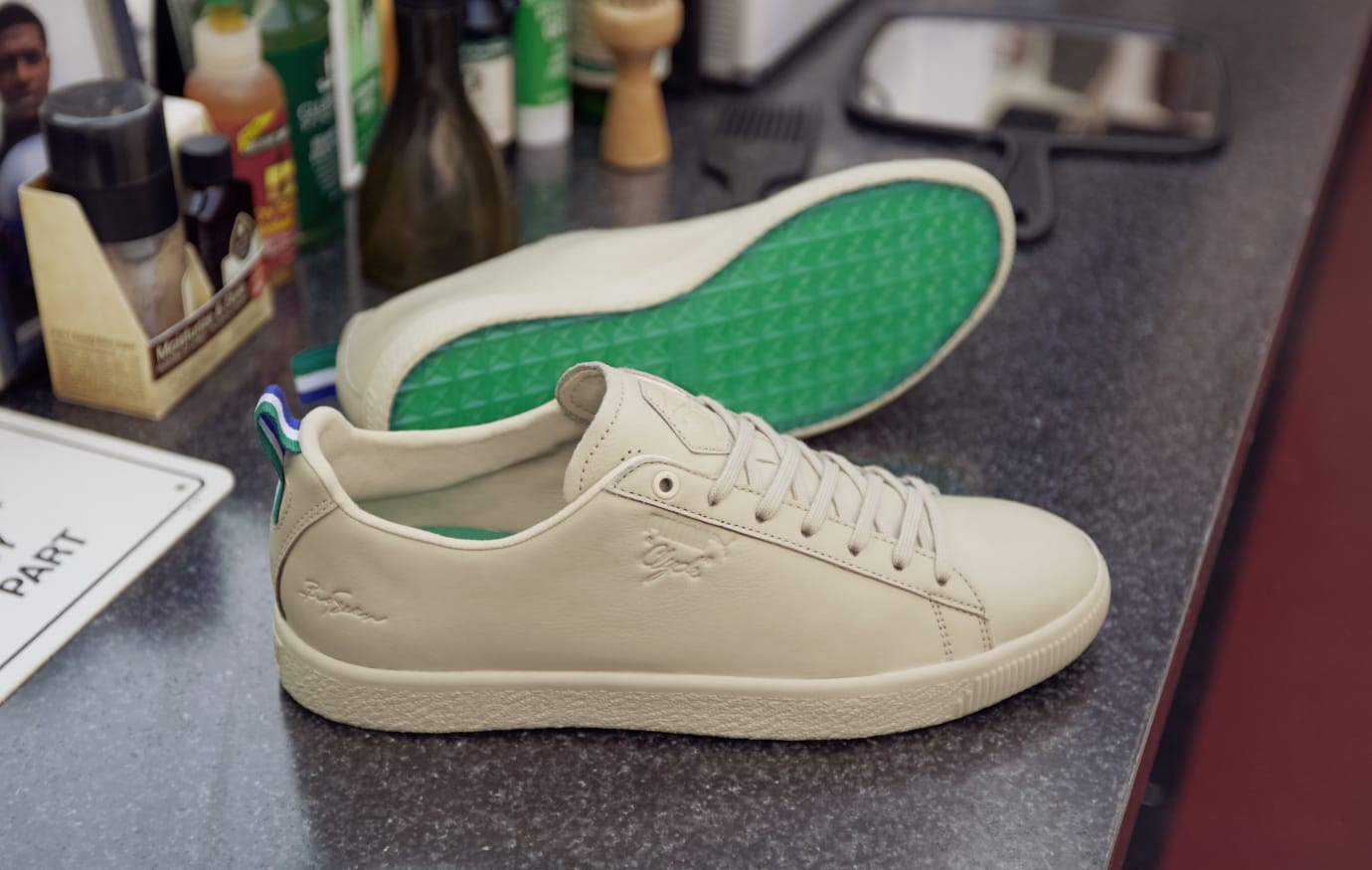Big Sean x Puma Clyde (Natural Vachetta)