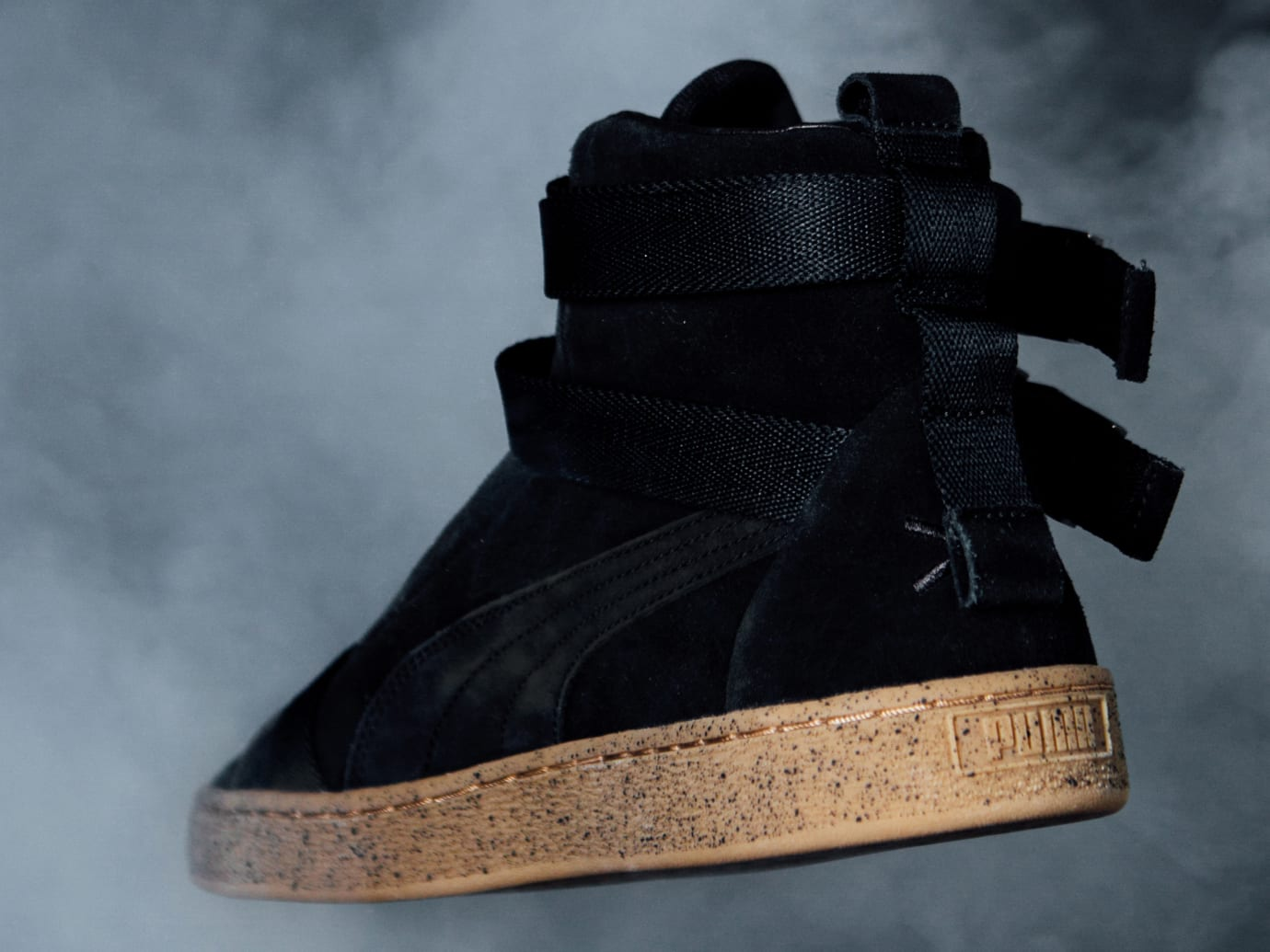 Image via Puma the-weeknd-x-puma-suede 8a9b30ce5