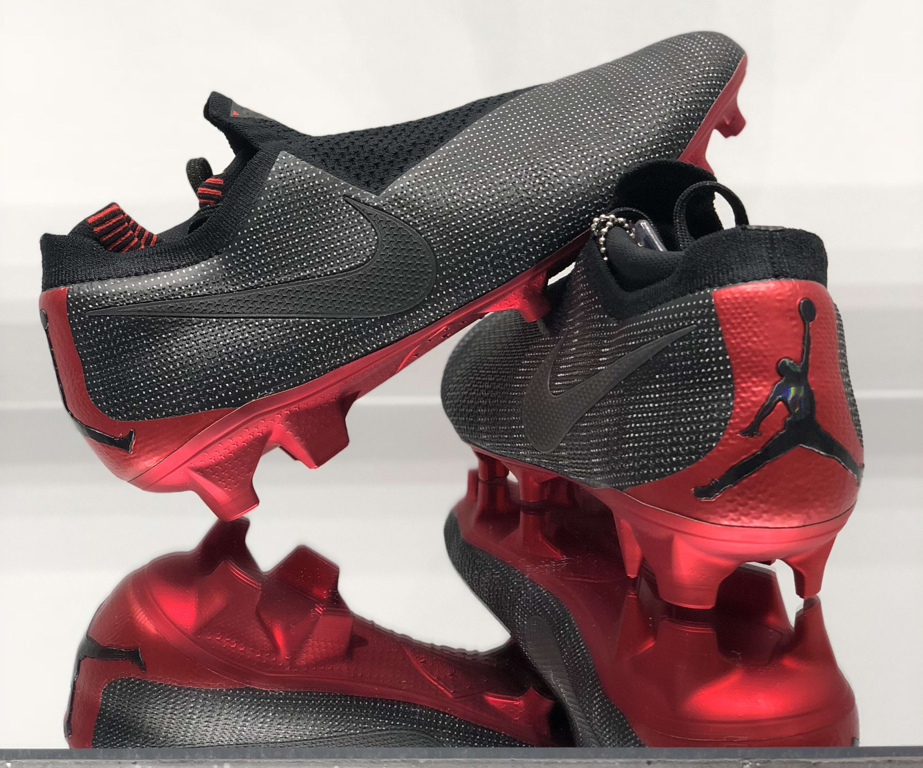 PSG x Jordan x Nike Phantom Vision Elite (Lateral and Heel)