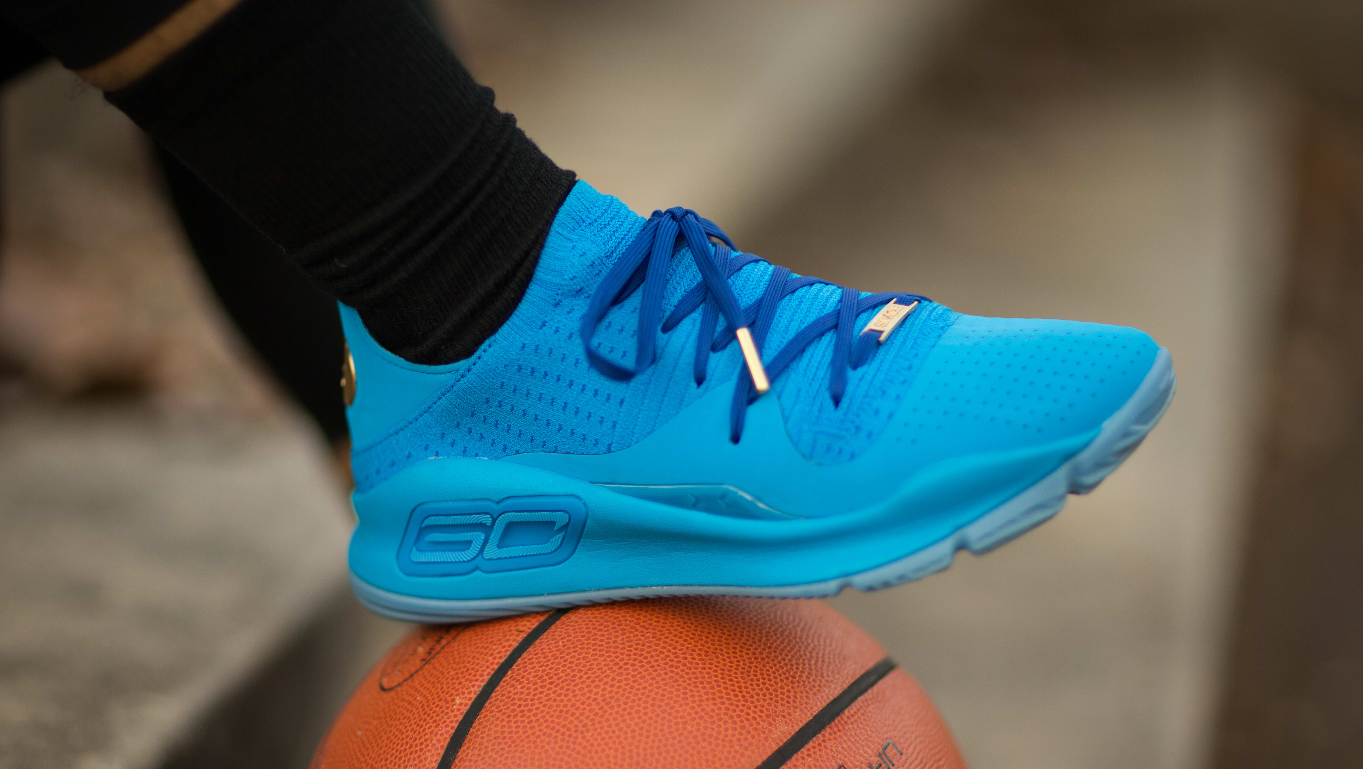 Under Armour Curry 4 Low 'Blue'