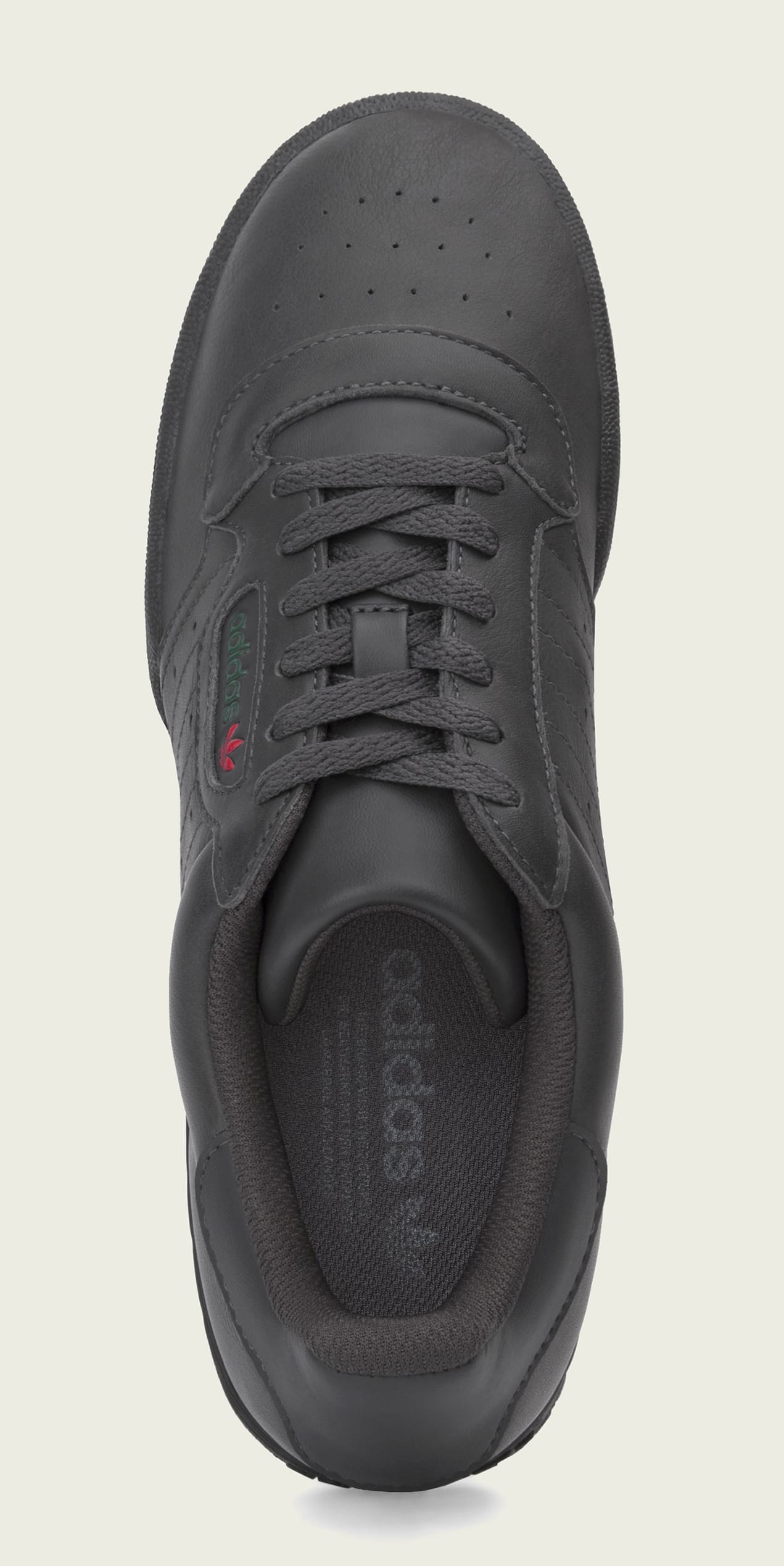 ce6b2de8362 Image via Adidas Adidas Yeezy Powerphase  Core Black  CG6420 (Top)