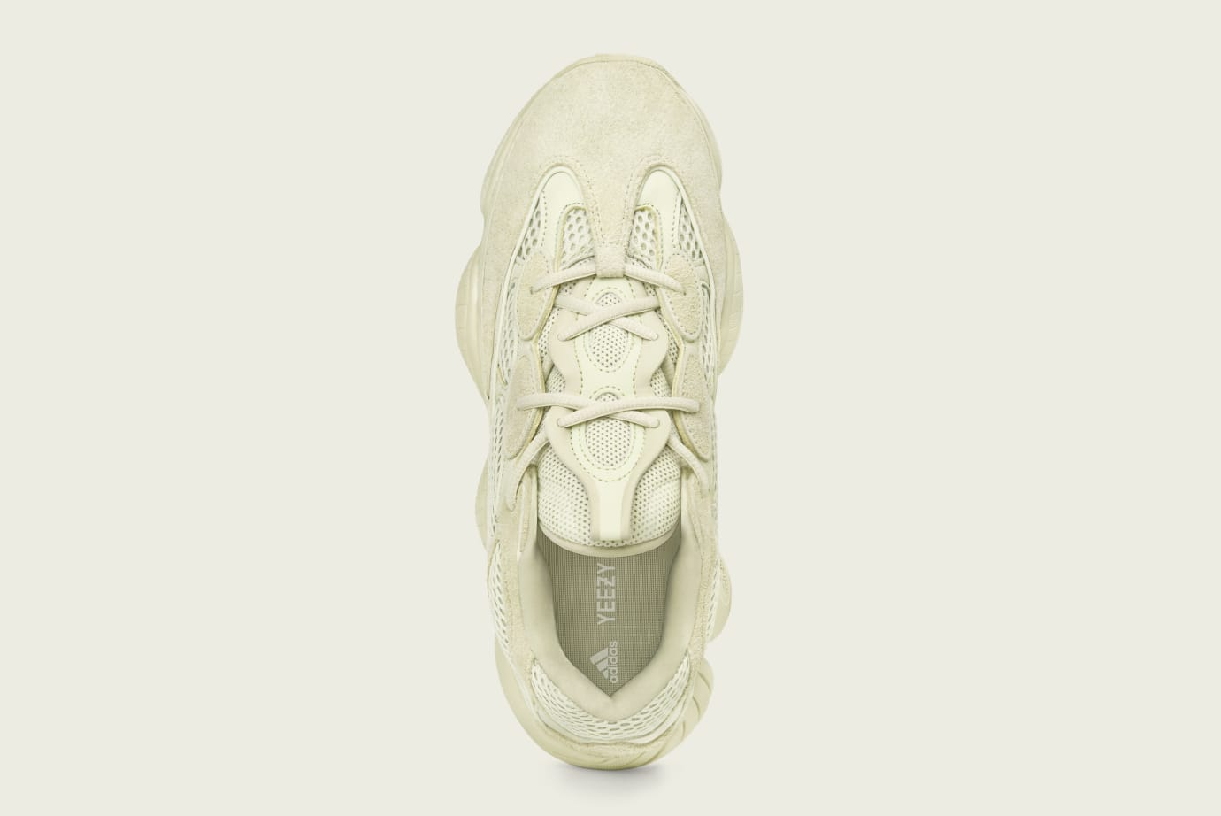 6daf782bdee Image via Adidas Adidas Yeezy 500  Supermoon Yellow  DB2966 (Top)
