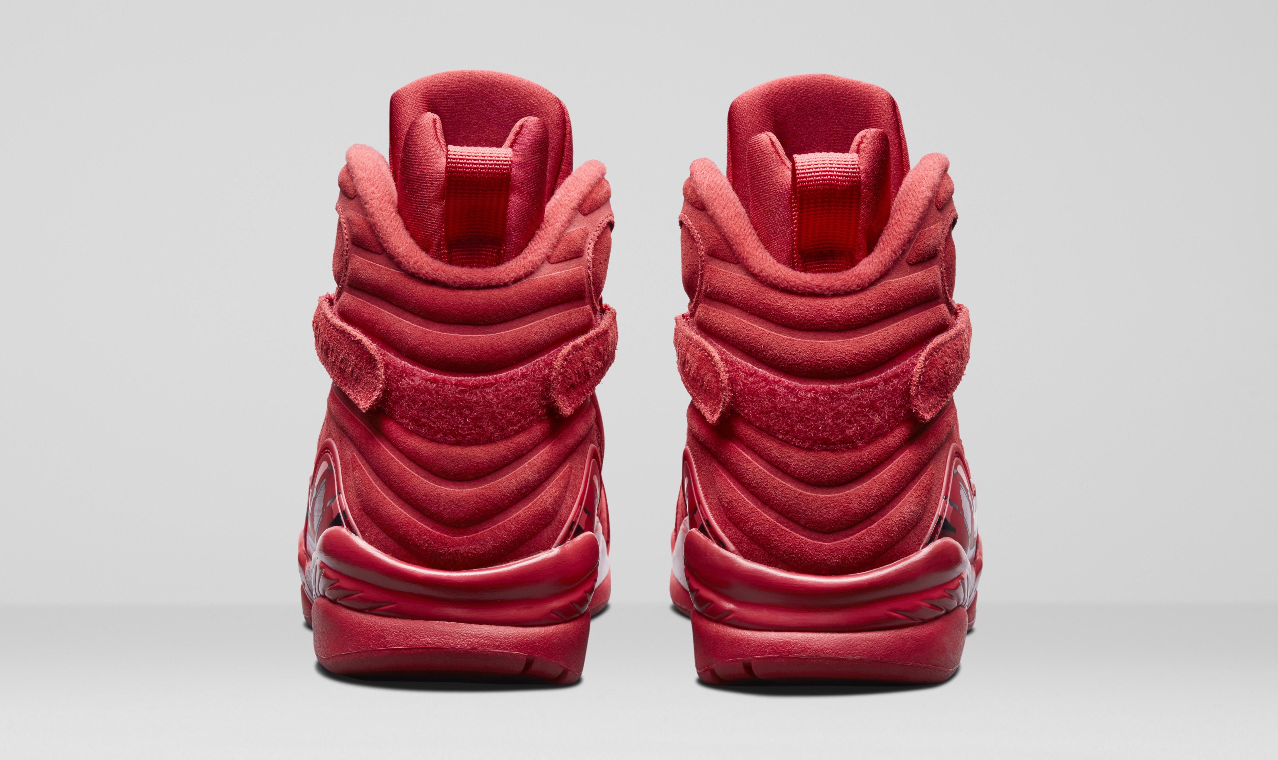 Toll Image Via Nike Air Jordan 8 U0027Valentineu0027s Dayu0027 AQ2449 614 (Heel)