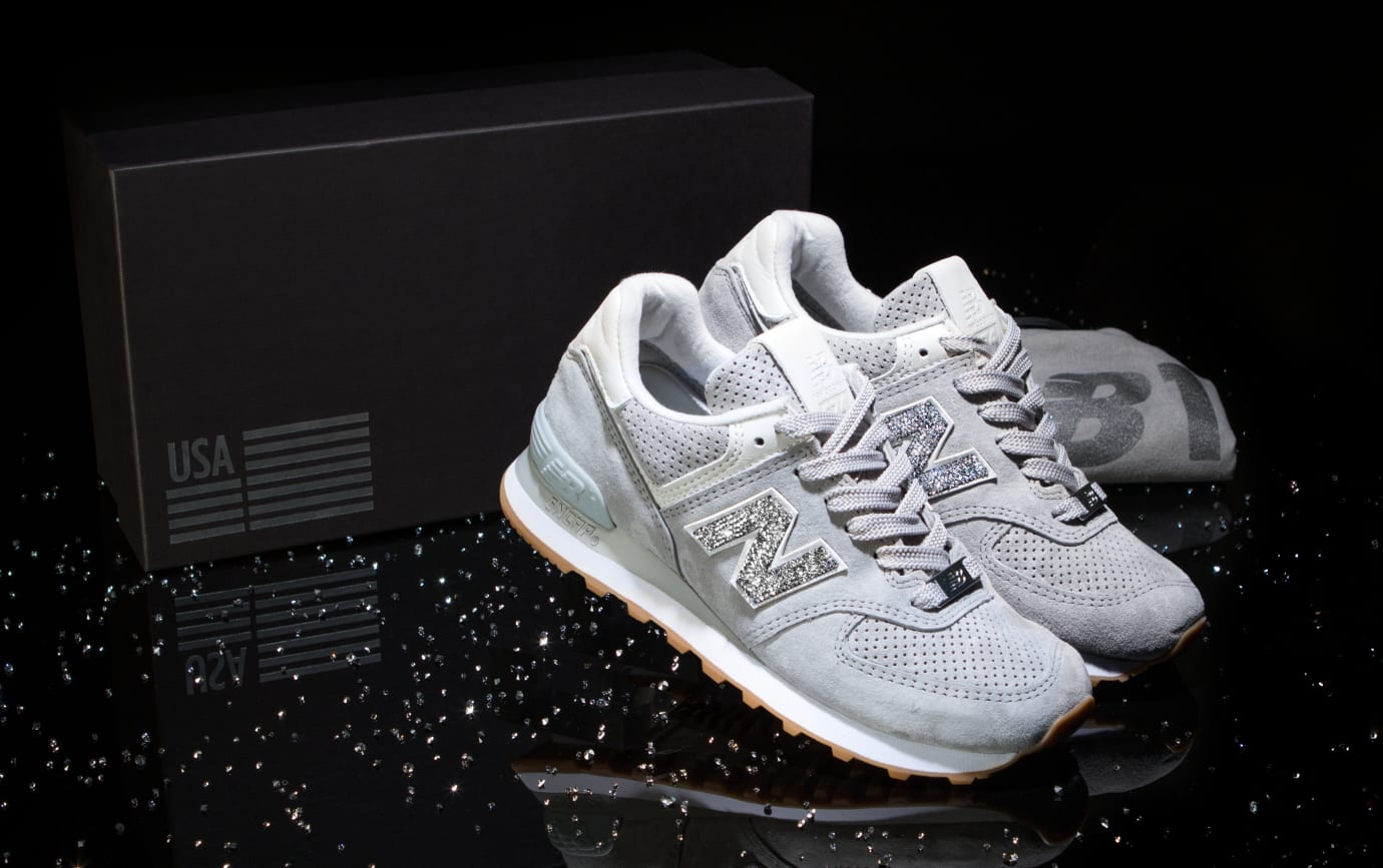 e7c238a7d75d6 Swarovski x New Balance NB1 574 Collection Release Date | Sole Collector