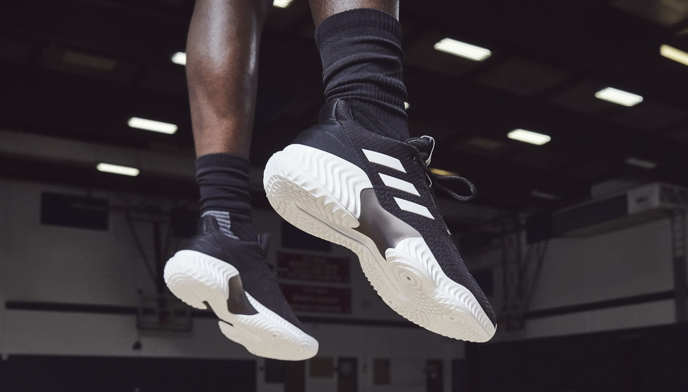 wholesale dealer 05c87 0e86d Image via Adidas Adidas Pro Bounce Low  Black White  1