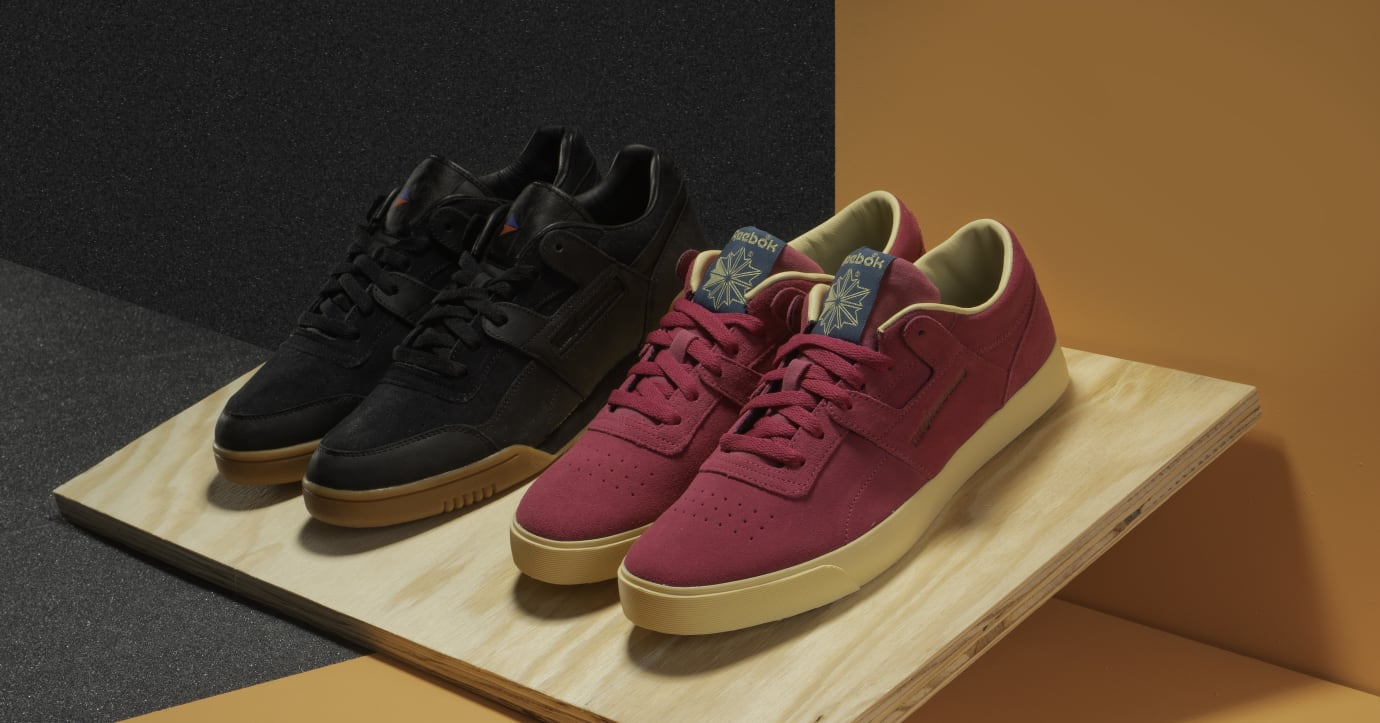 The Hundreds x Reebok Workout Plus and Workout FVS (Group)