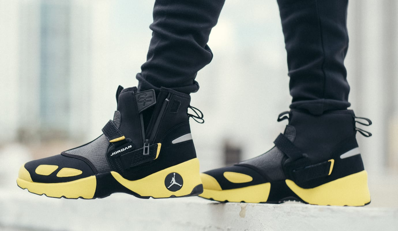 SoleFly x Jordan Trunner LX High 'Lightning' (Unzipped)