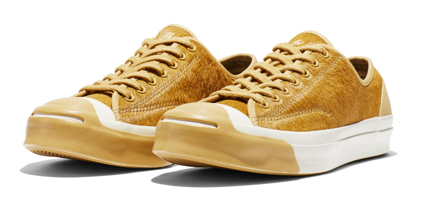 BornxRaised x Converse Jack Purcell 'Camel' (Pair)