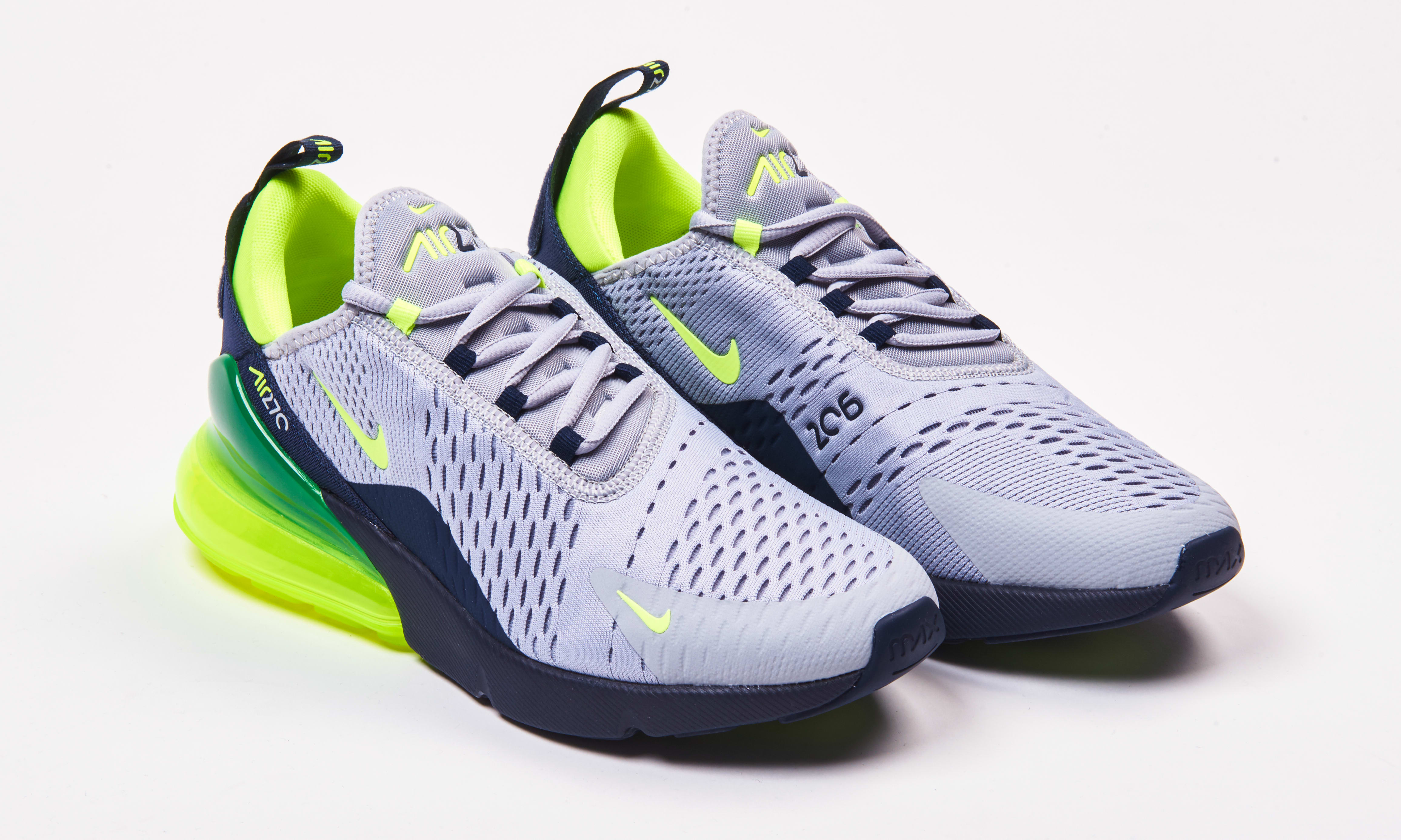 super popular b1429 b0aaf Nike Air Max 270 'Seattle 'Home and Away' Pack Release Date ...