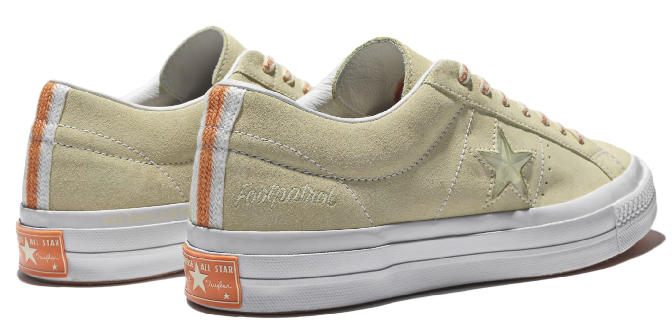 Converse One Star x Footpatrol (Back Pair)
