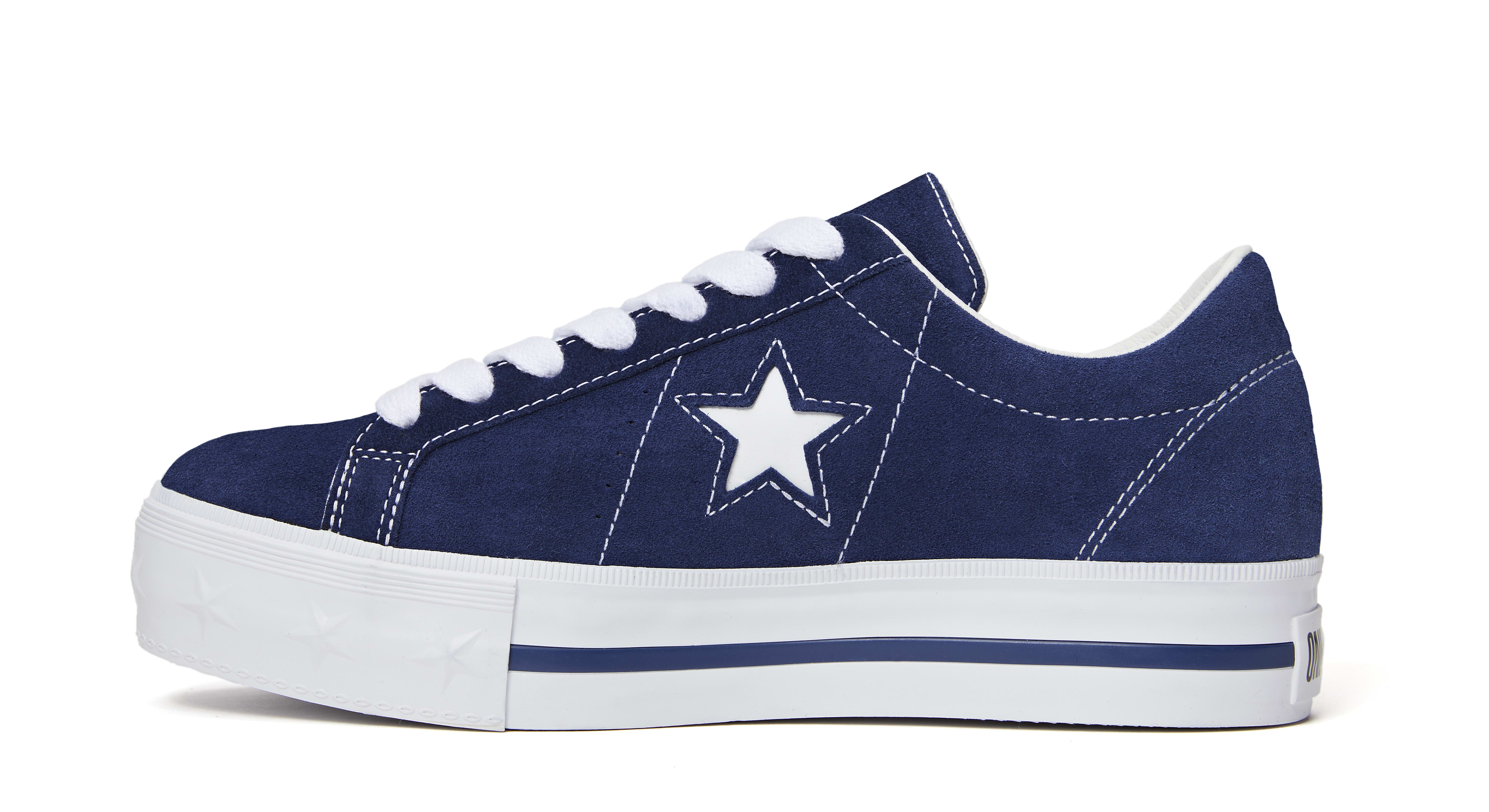 Mademe x Converse One Star 'Medieval Blue' (Medial)