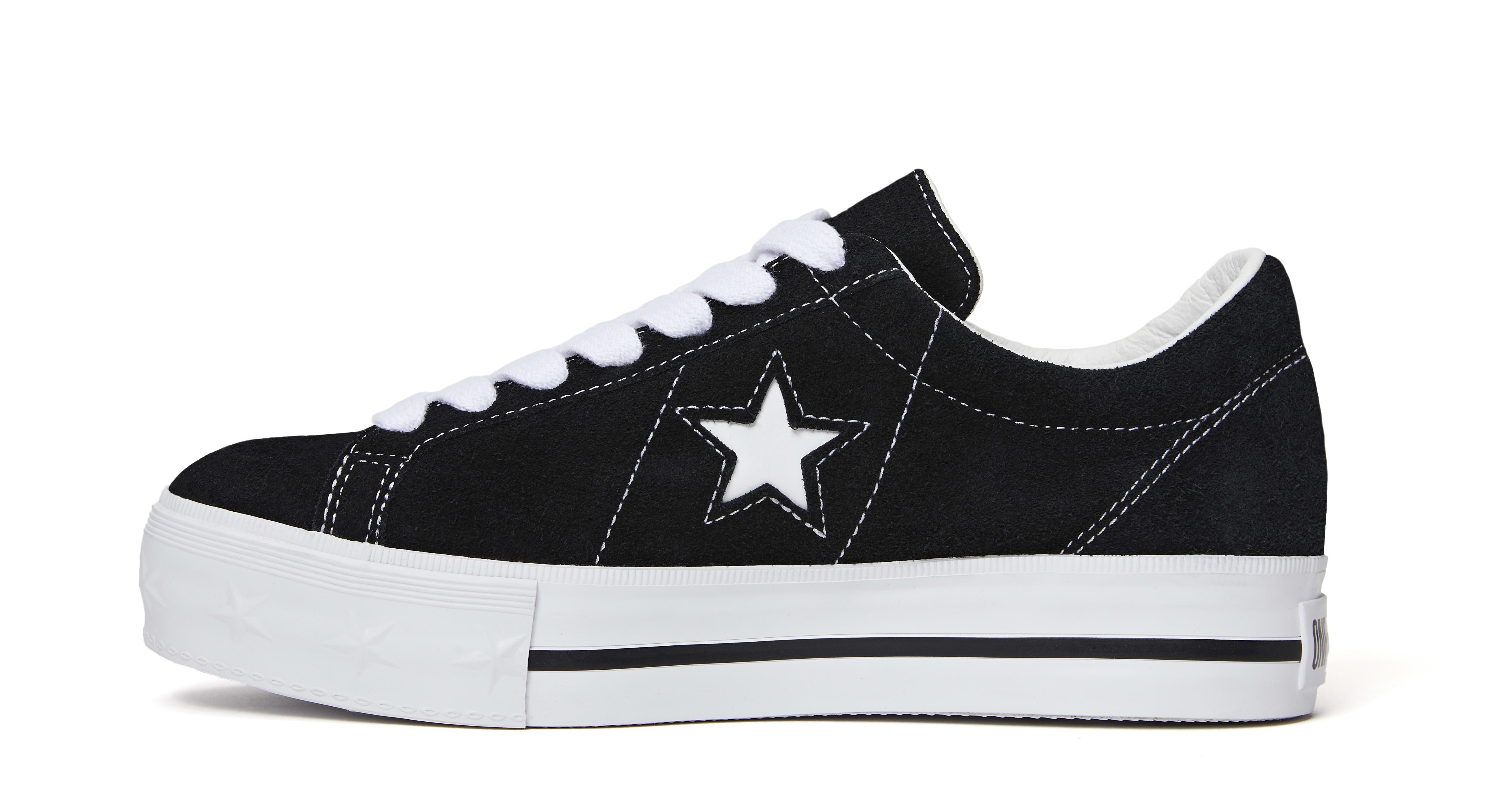 Mademe x Converse One Star 'Black' (Medial)