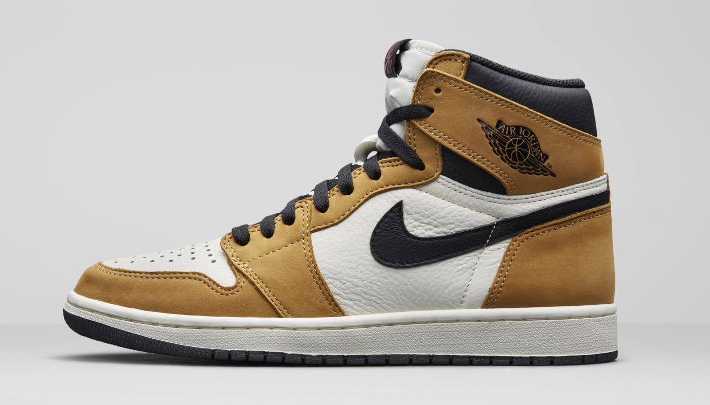detailed look 5c5f7 d78f3 Air Jordan 1  Rookie of the Year  555088-700 (Lateral)