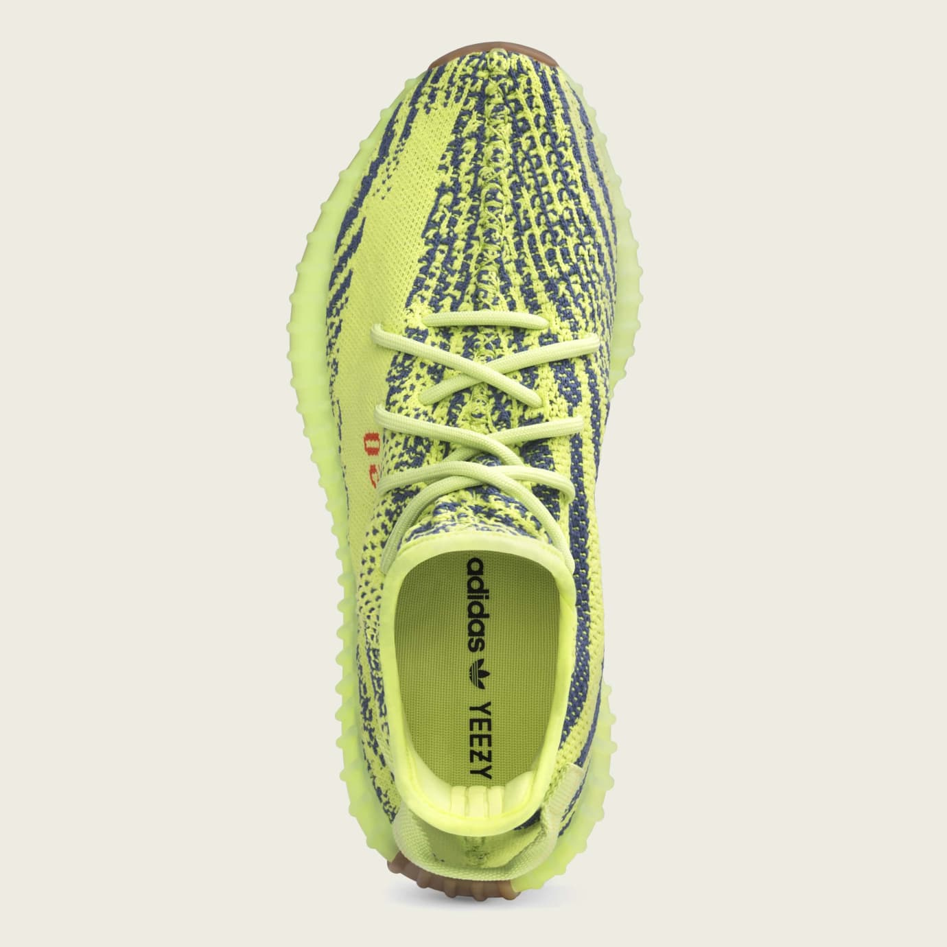 ebea5ddfabd4e Image via Adidas Adidas Yeezy Boost 350 V2  Semi Frozen Yellow  B37572 (Top)