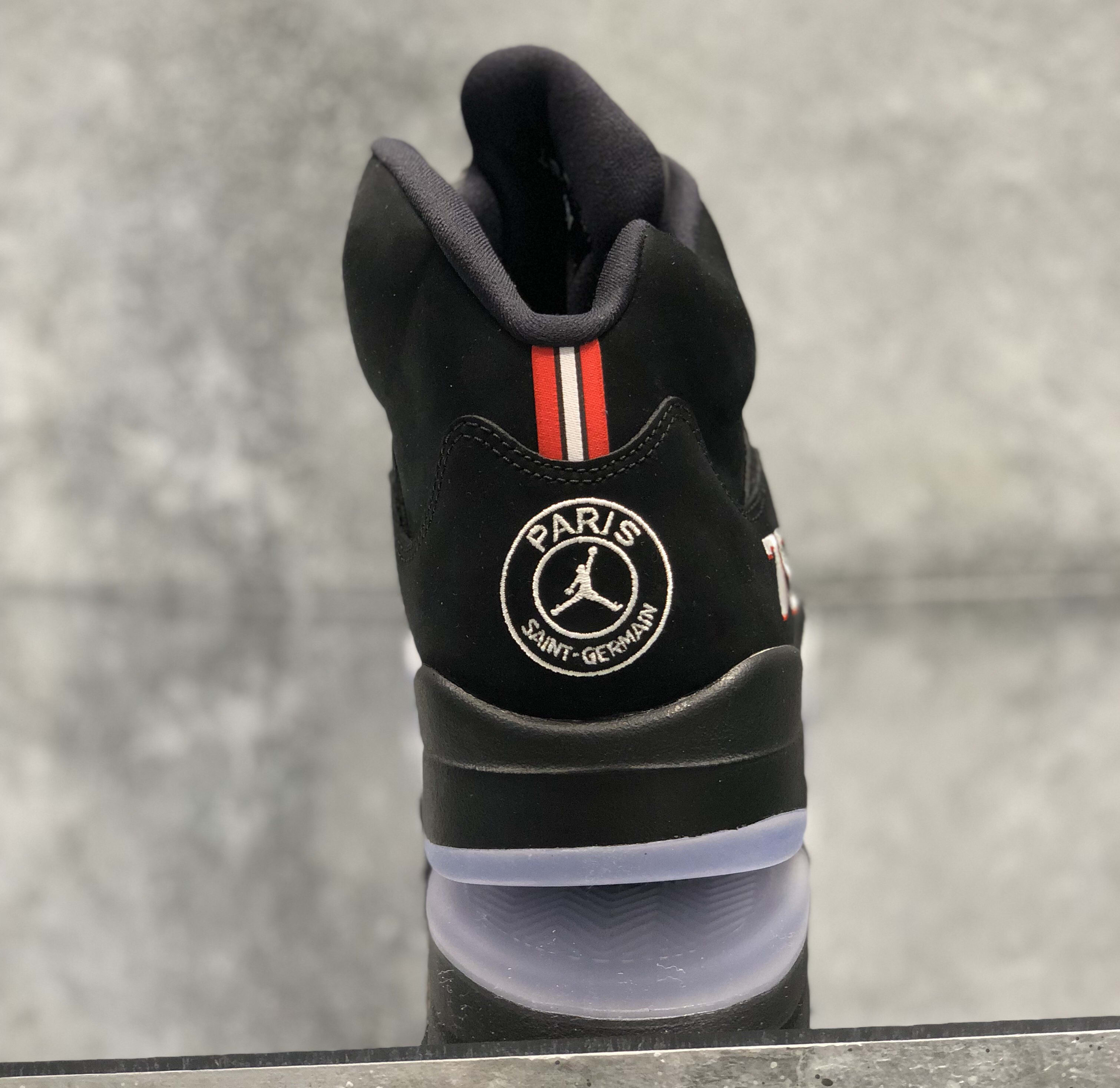 Air Jordan 5 'PSG' (Heel)