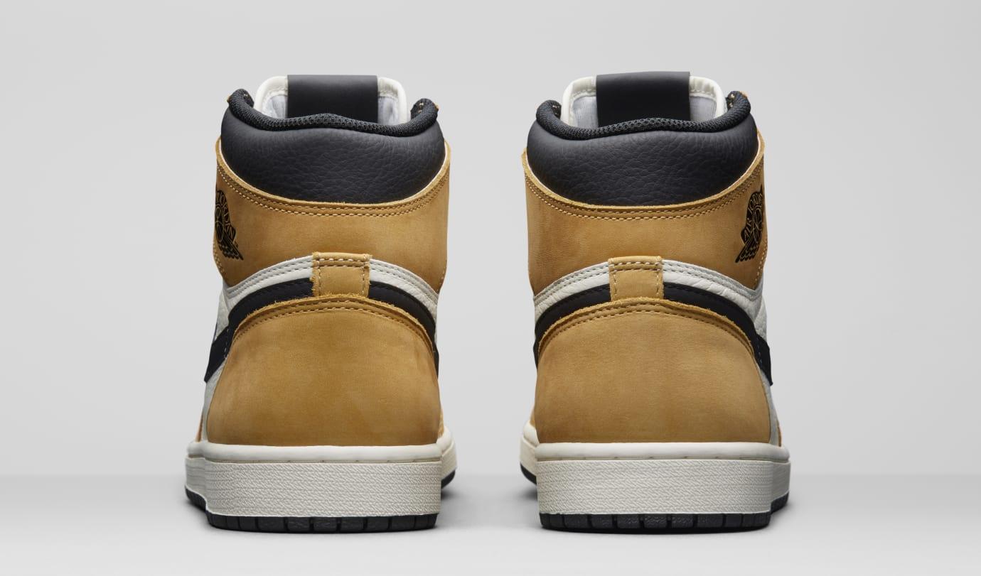 Image via Nike Air Jordan 1  Rookie of the Year  555088-700 (Heel) c7bc7163d
