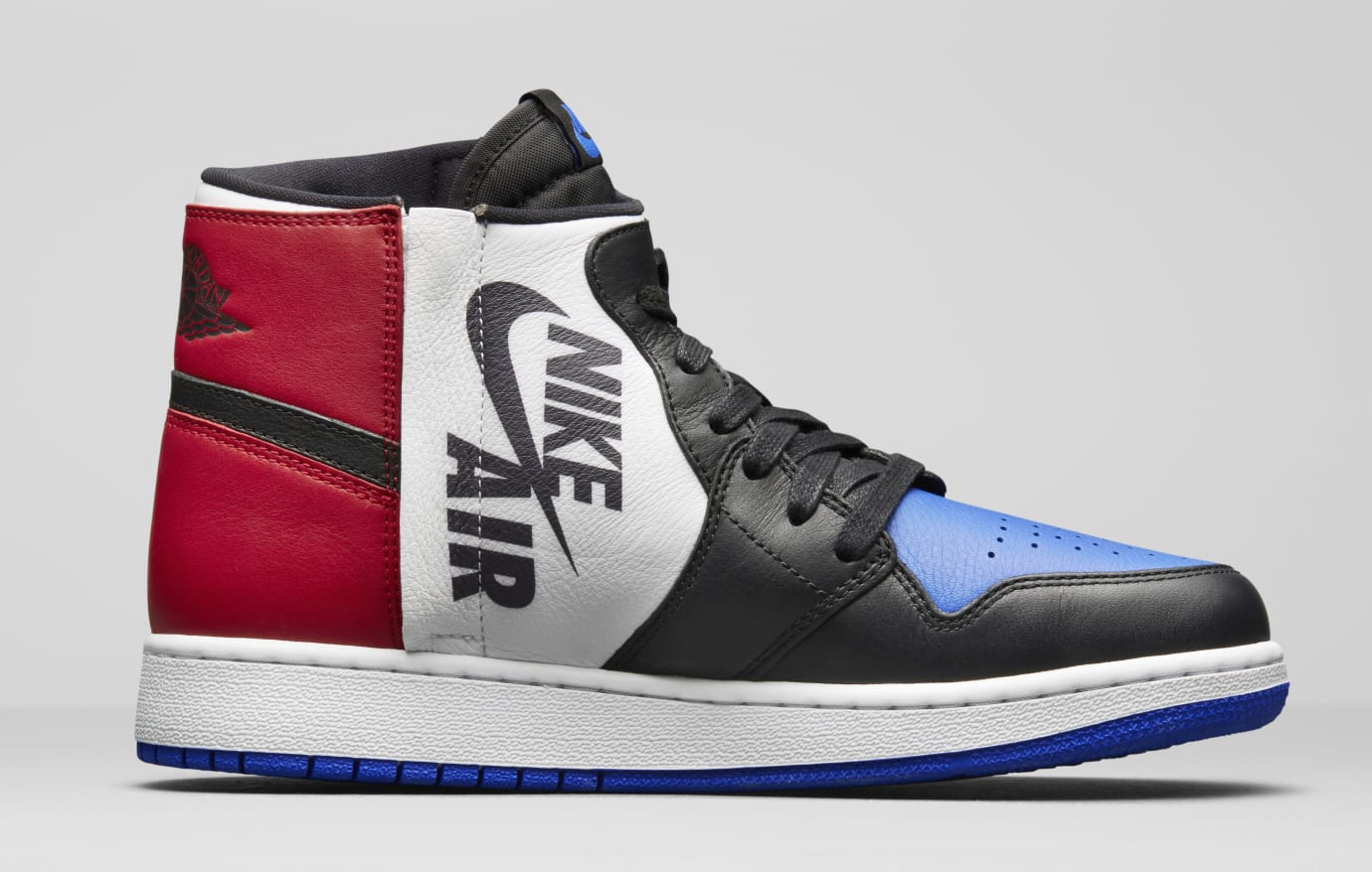 ca67b390040e Image via Nike Air Jordan 1 Rebel  Top Three  AT4151-001 (Medial)