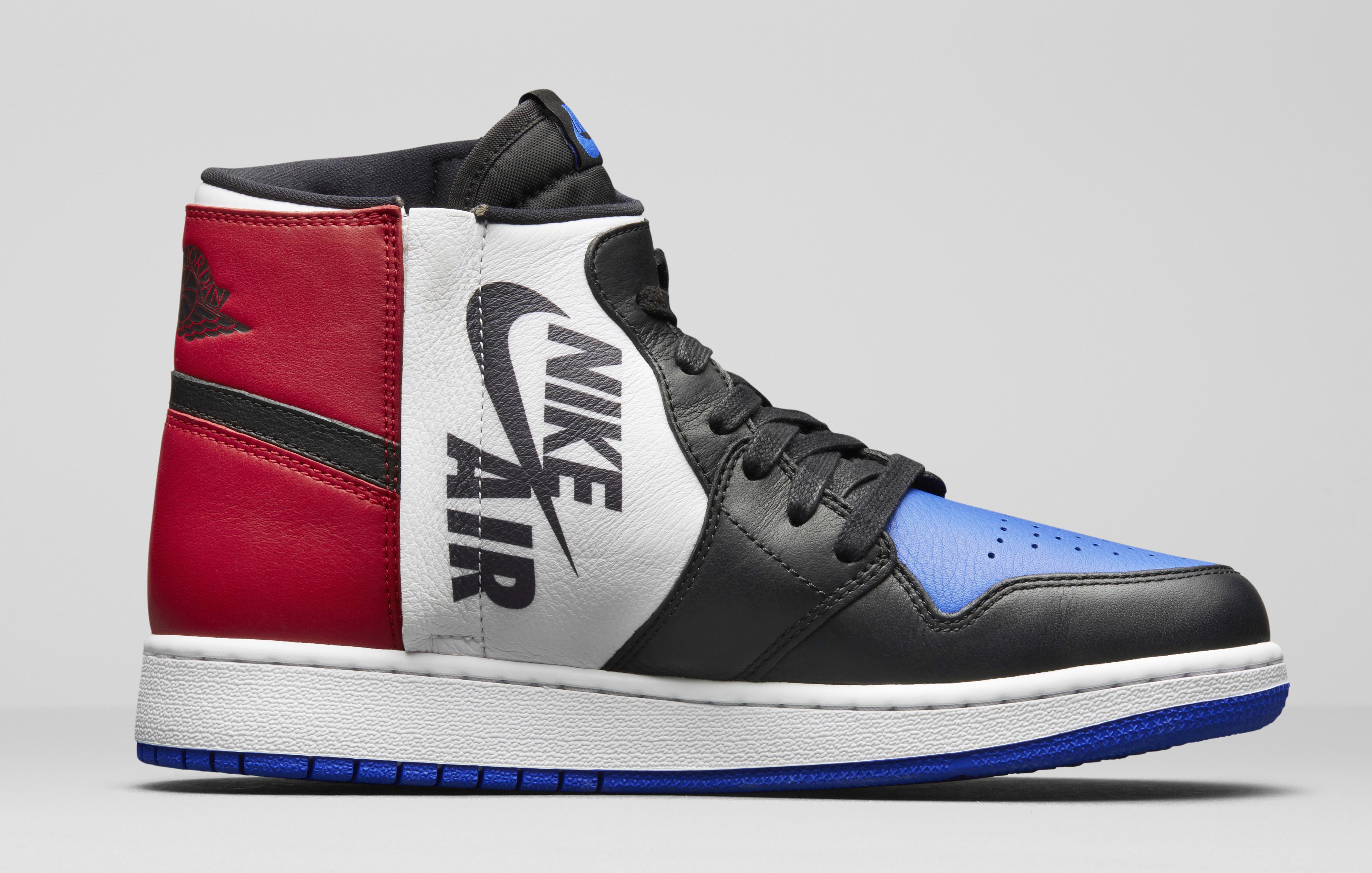 Air Jordan 1 Rebel 'Top Three' AT4151-001 (Medial)