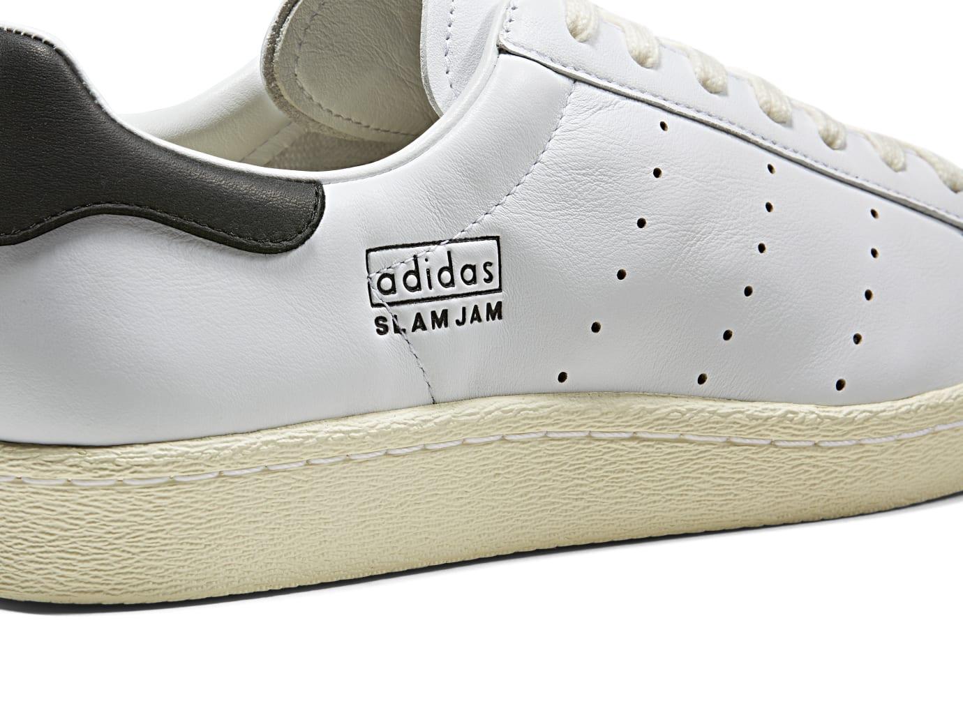 Slam Jam x Adidas 80s Superstar (Lateral Detail)